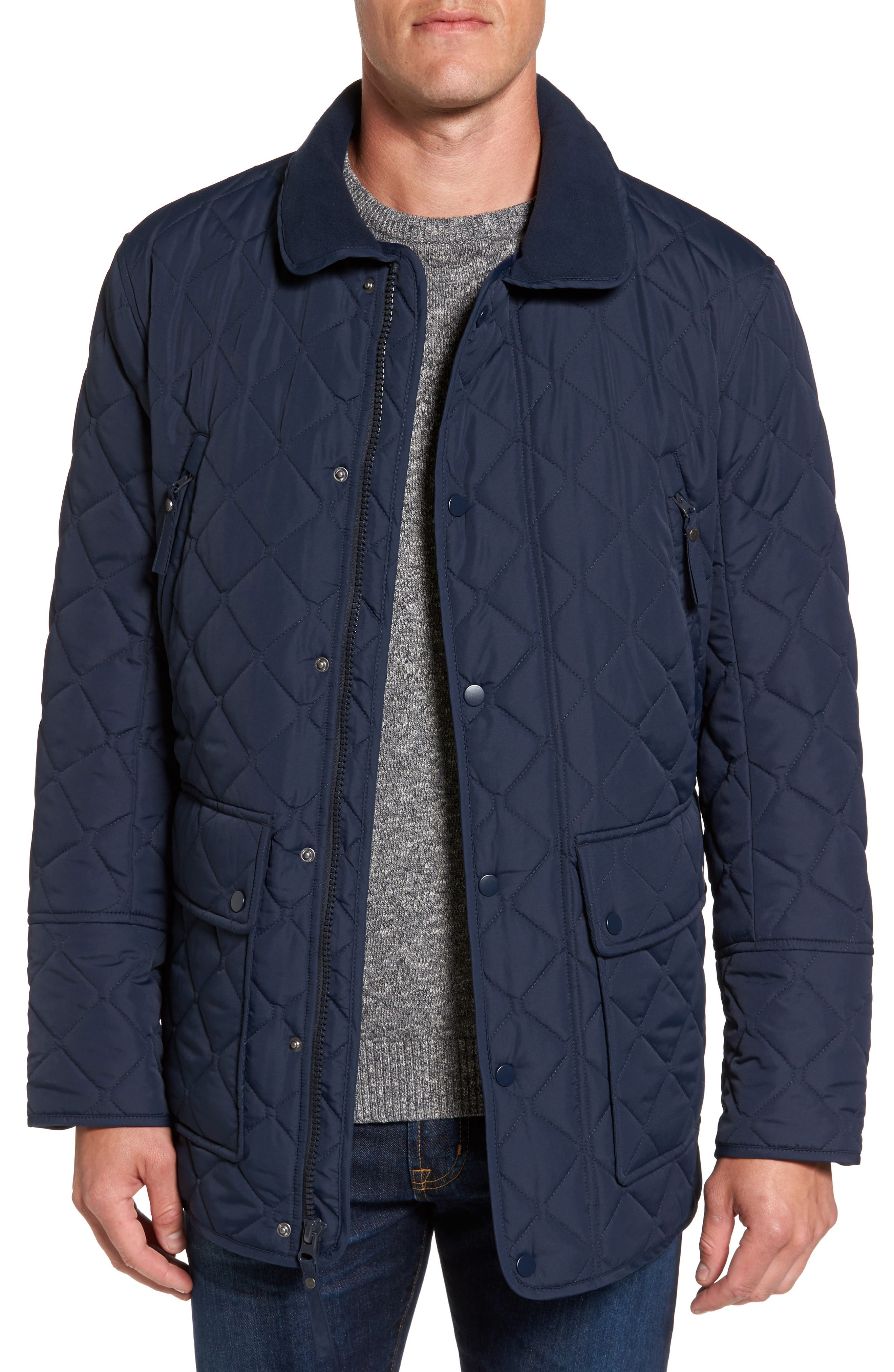 Andrew Marc Milton Quilted Barn Jacket