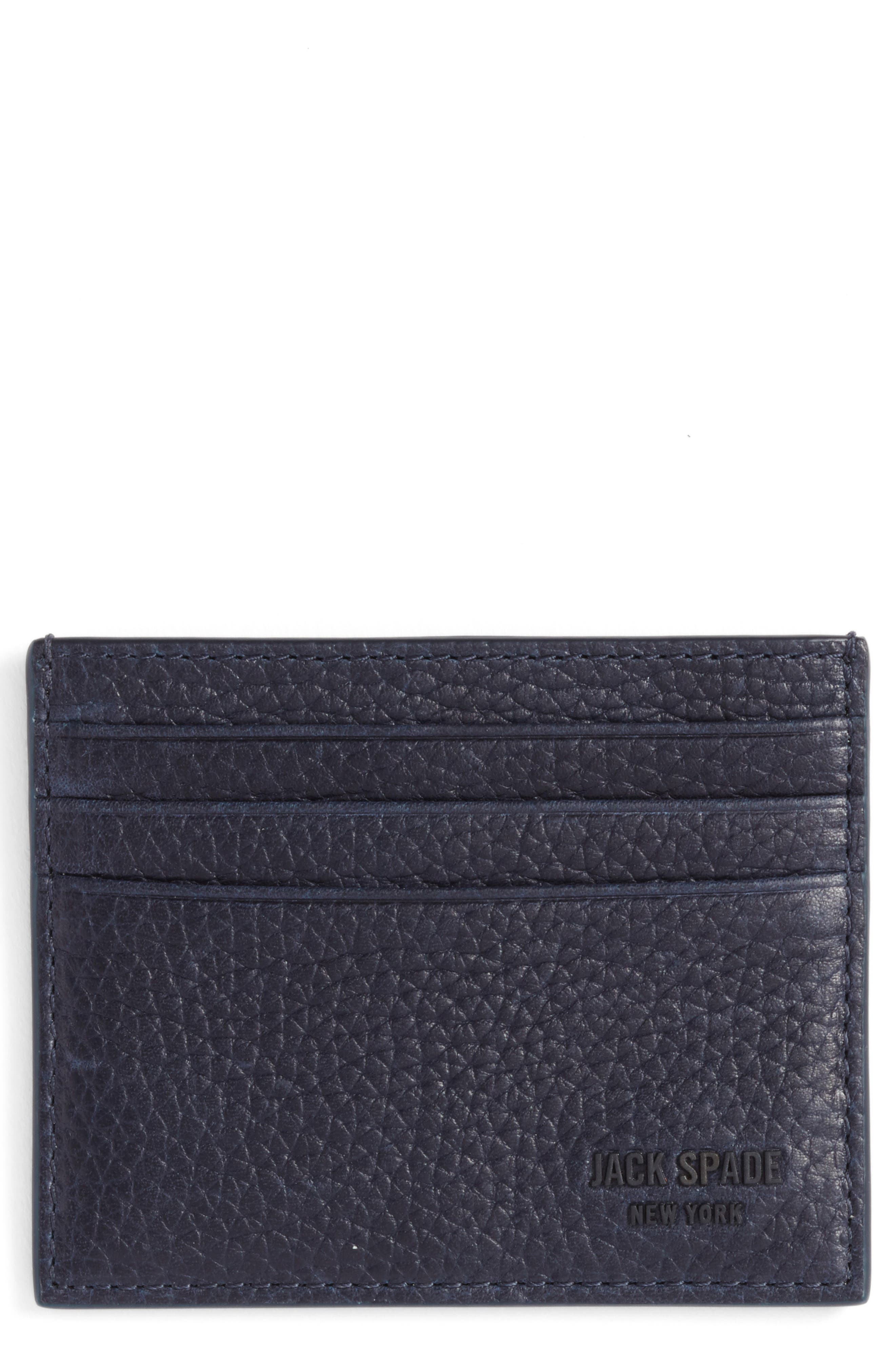 Jack Spade Leather Card Case
