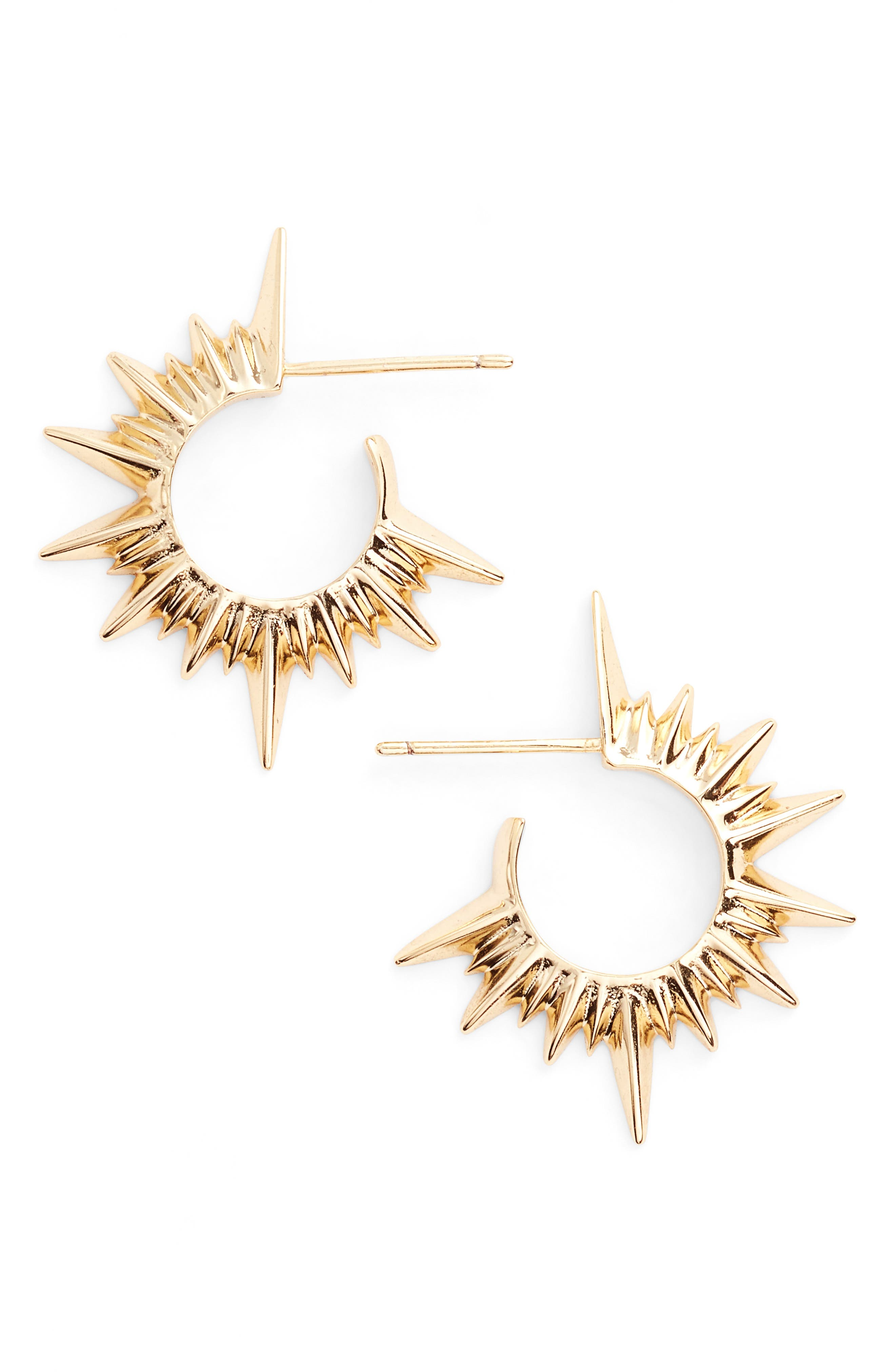 Jules Smith Stellar Small Hoop Earrings