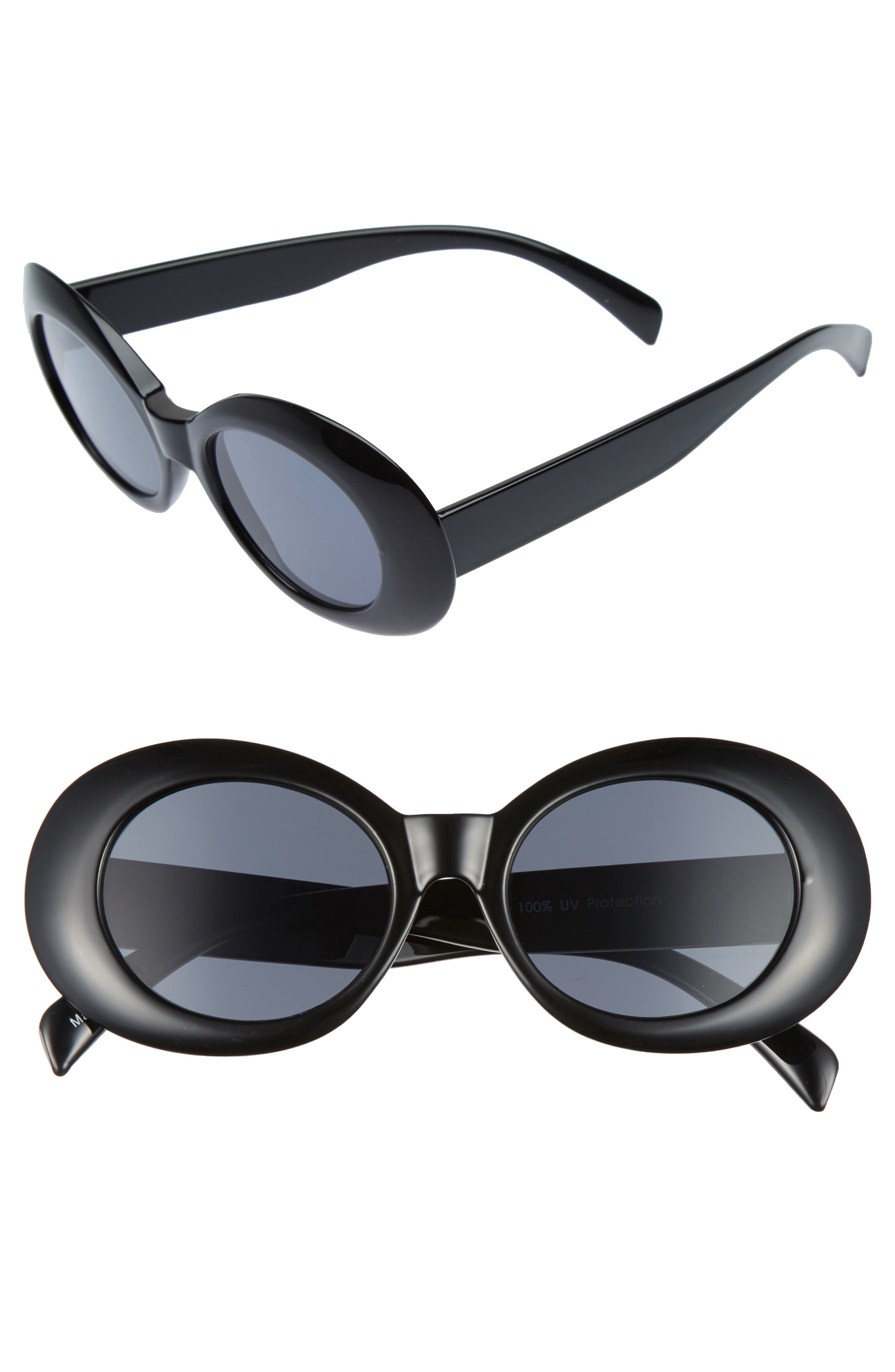 Main Image - BP. 52mm Oval Sunglasses