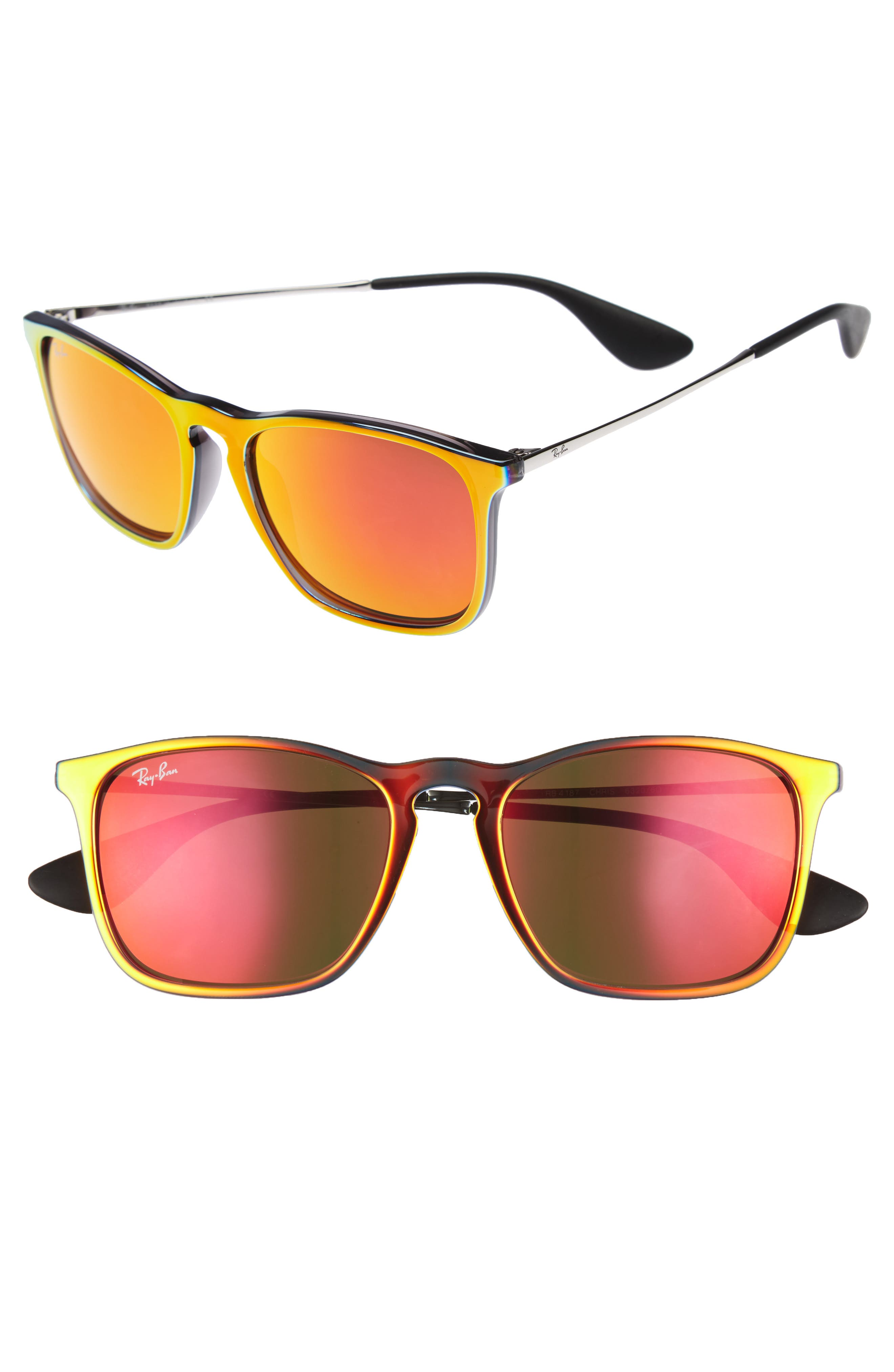 Ray-Ban 'Youngster' Velvet 54mm Sunglasses