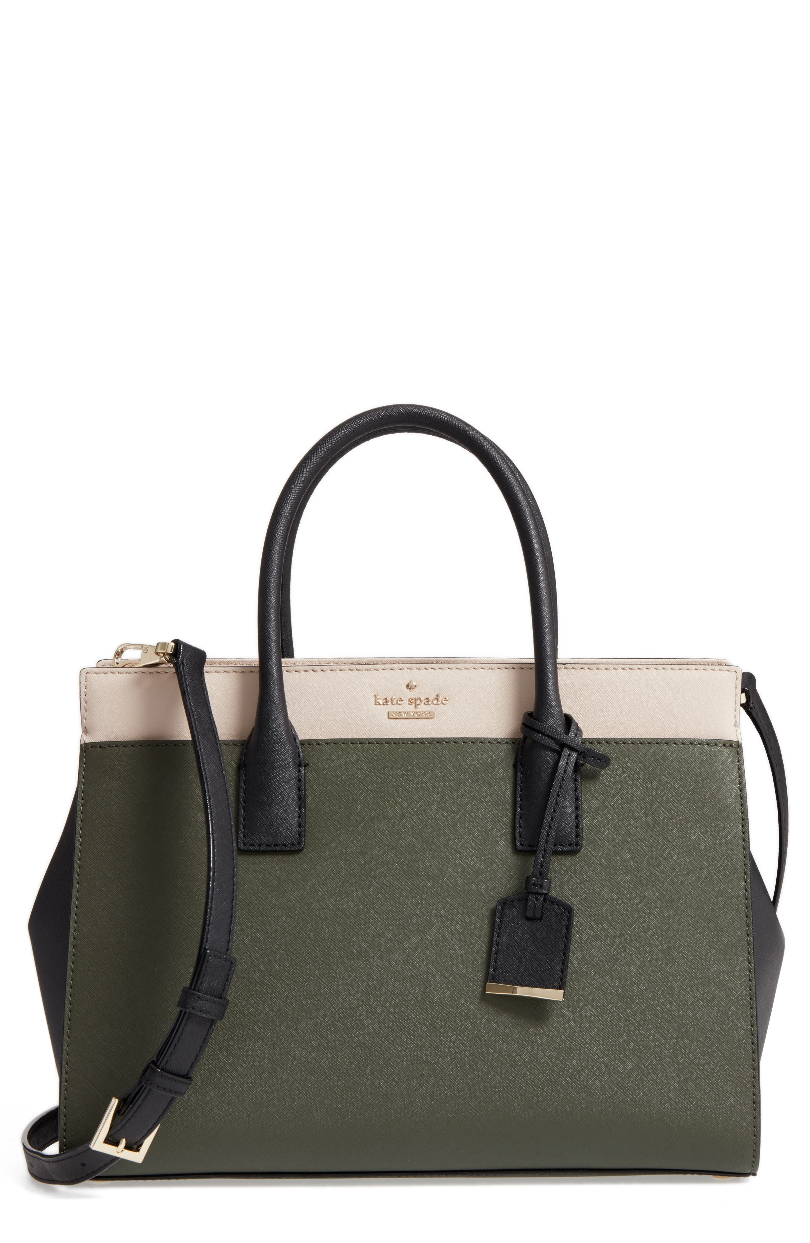 Alternate Image 1 Selected - kate spade new york cameron street - candace leather satchel