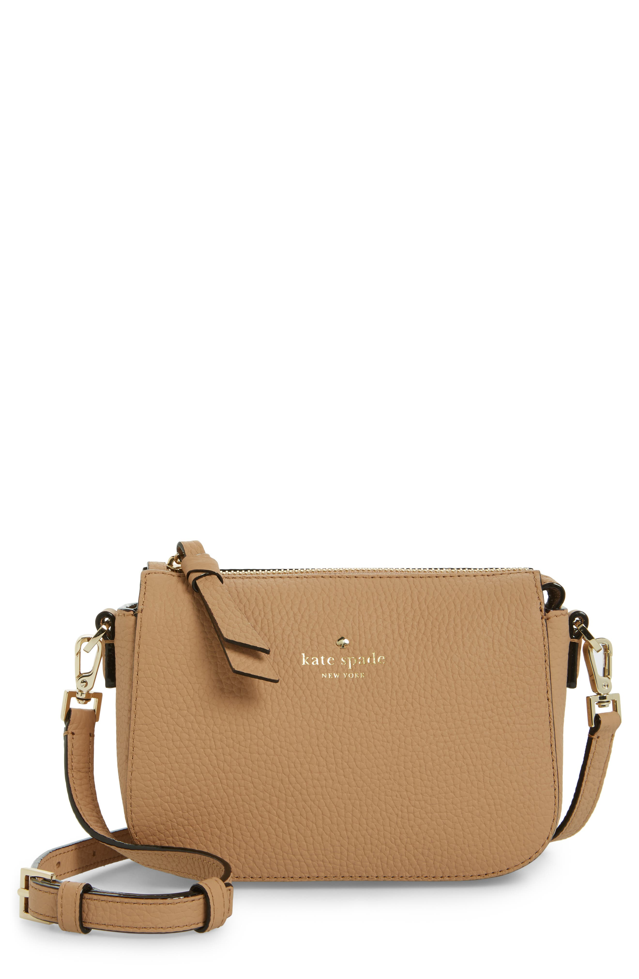 kate spade new york daniels drive - wendi leather crossbody bag