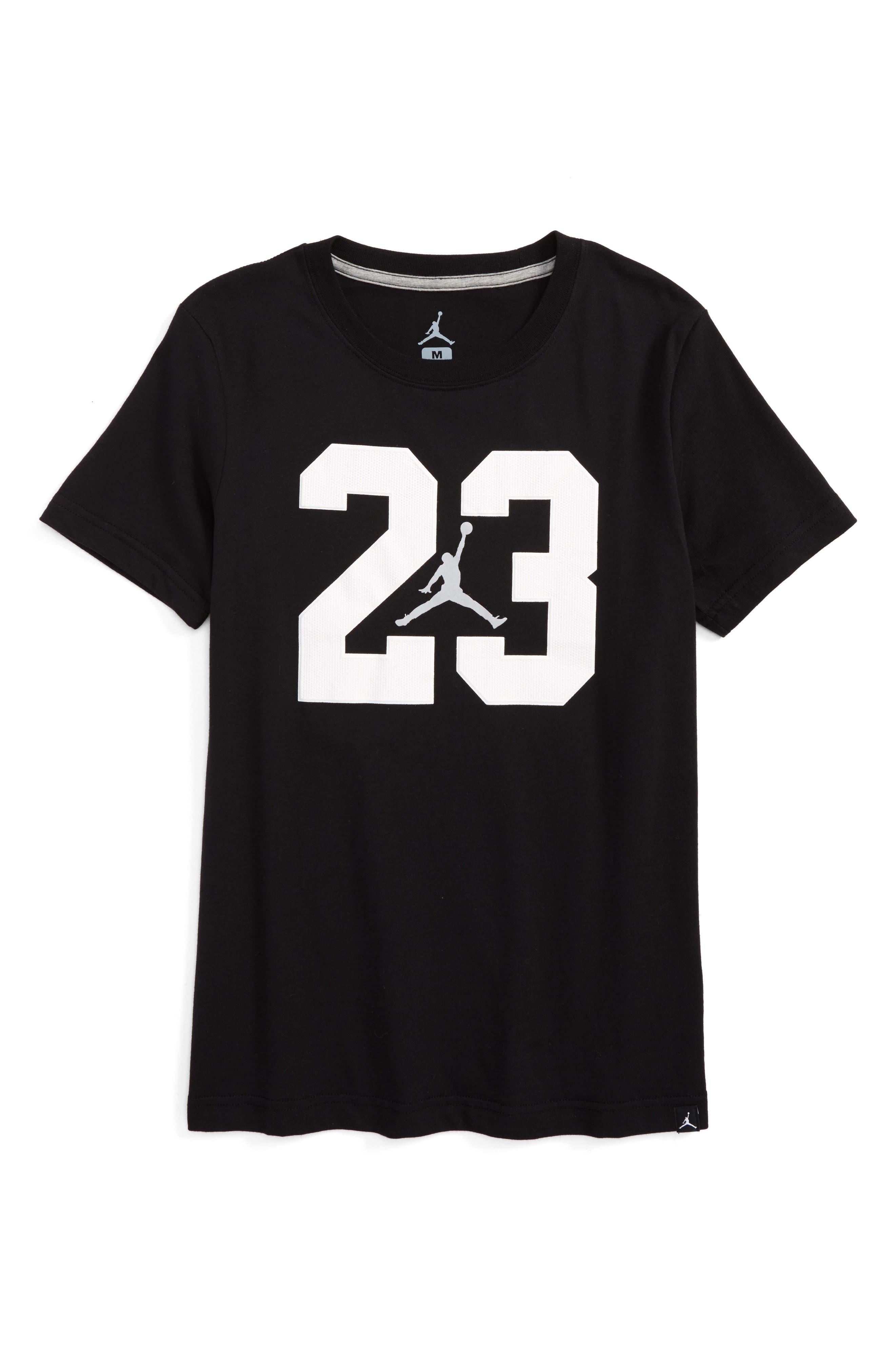 Jordan Iconic 23 Graphic T-Shirt (Big Boys)