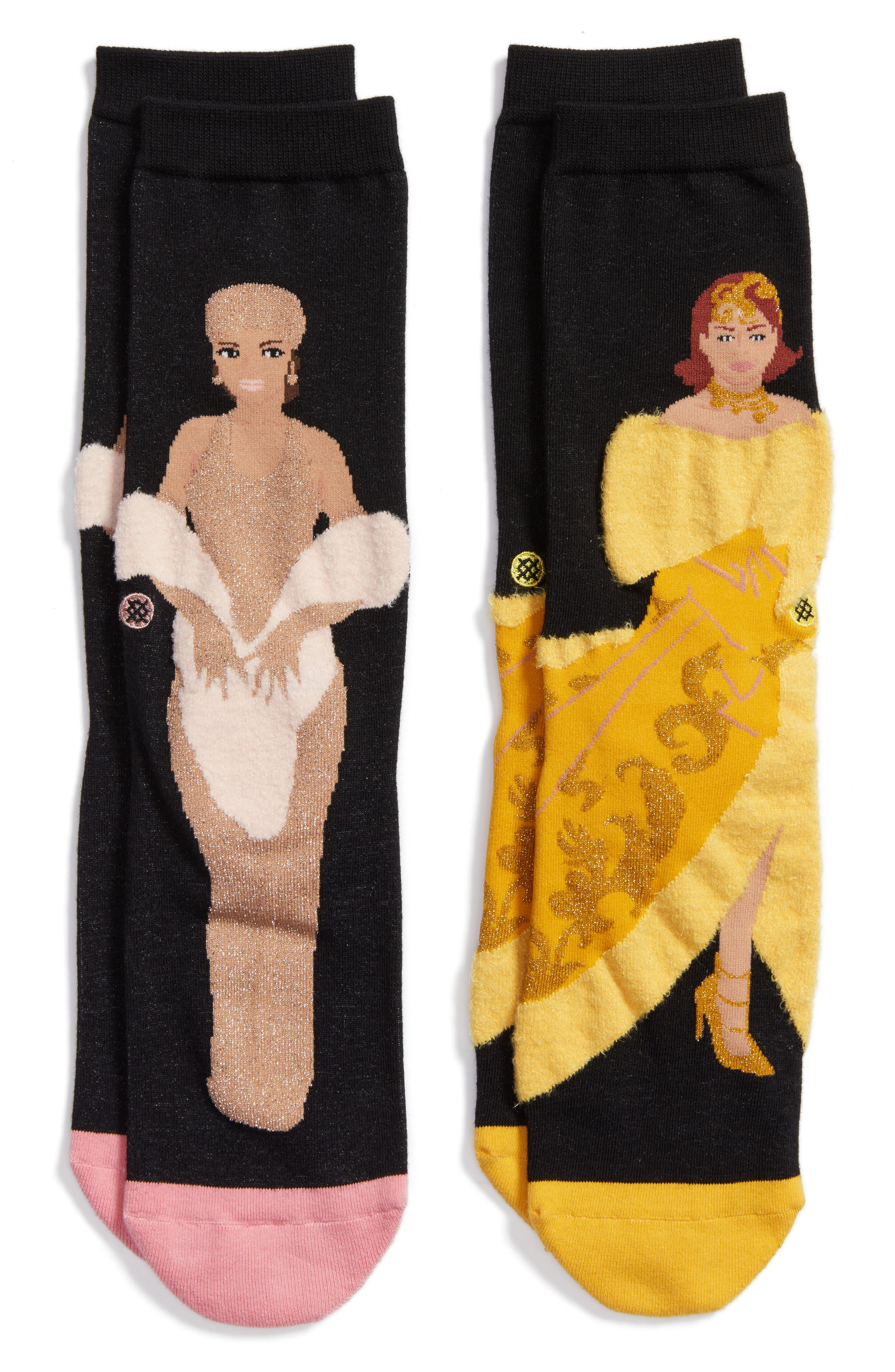 Stance x Rihanna Awards Show 2-Pack Crew Socks