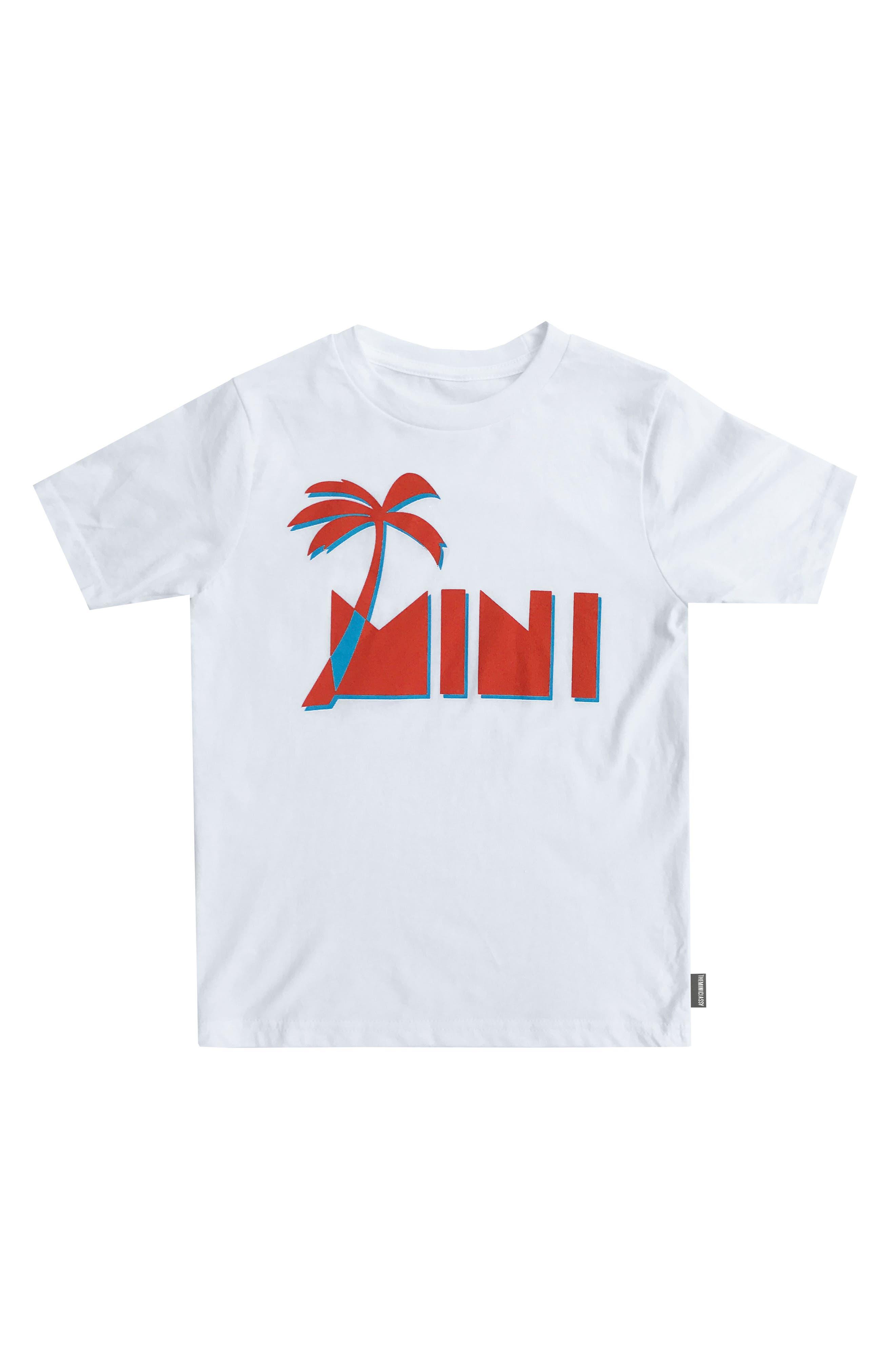 THEMINICLASSY Graphic Crewneck T-Shirt (Toddler Boys & Little Boys)