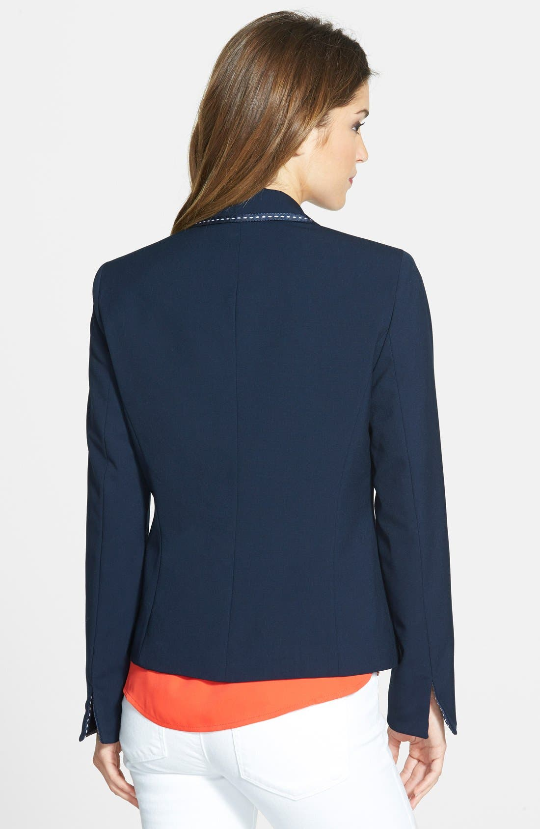 Alternate Image 2  - Jones New York 'Olivia' Grosgrain Trim Jacket