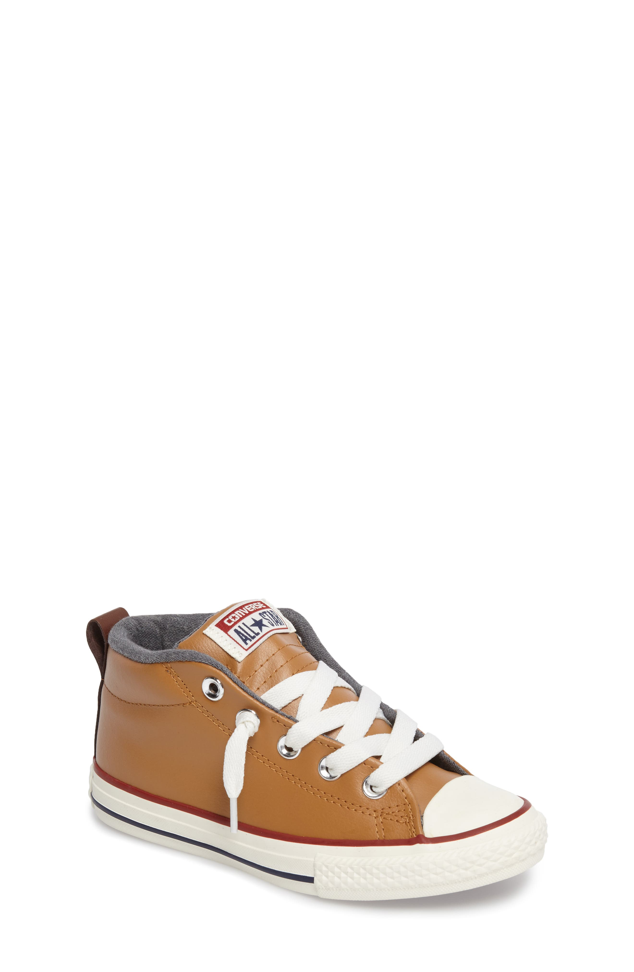 Converse Chuck Taylor® All Star® Street Mid Top Sneaker (Baby, Walker, Toddler, Little Kid & Big Kid)
