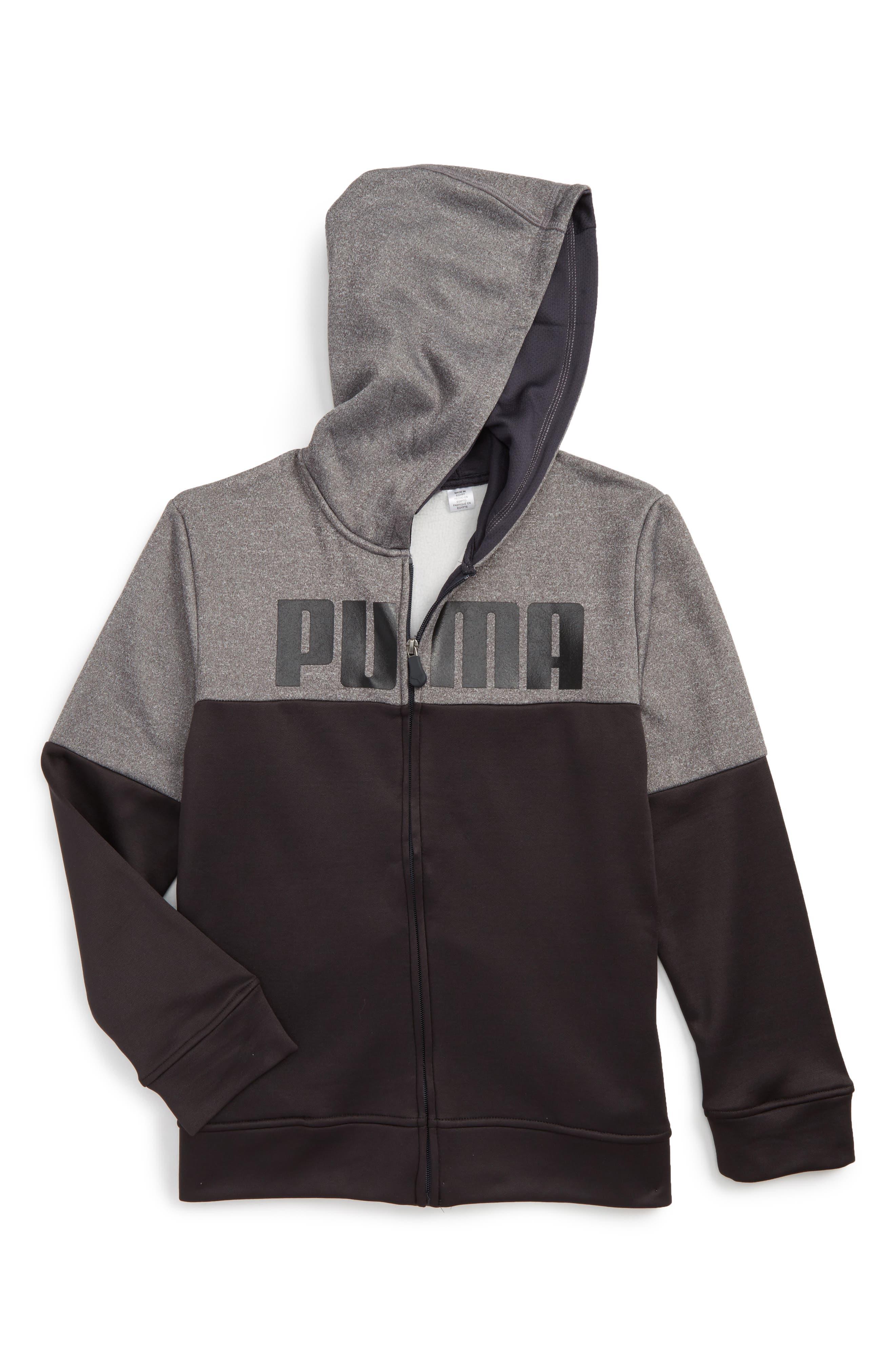 PUMA Logo Graphic Hoodie (Big Boys)