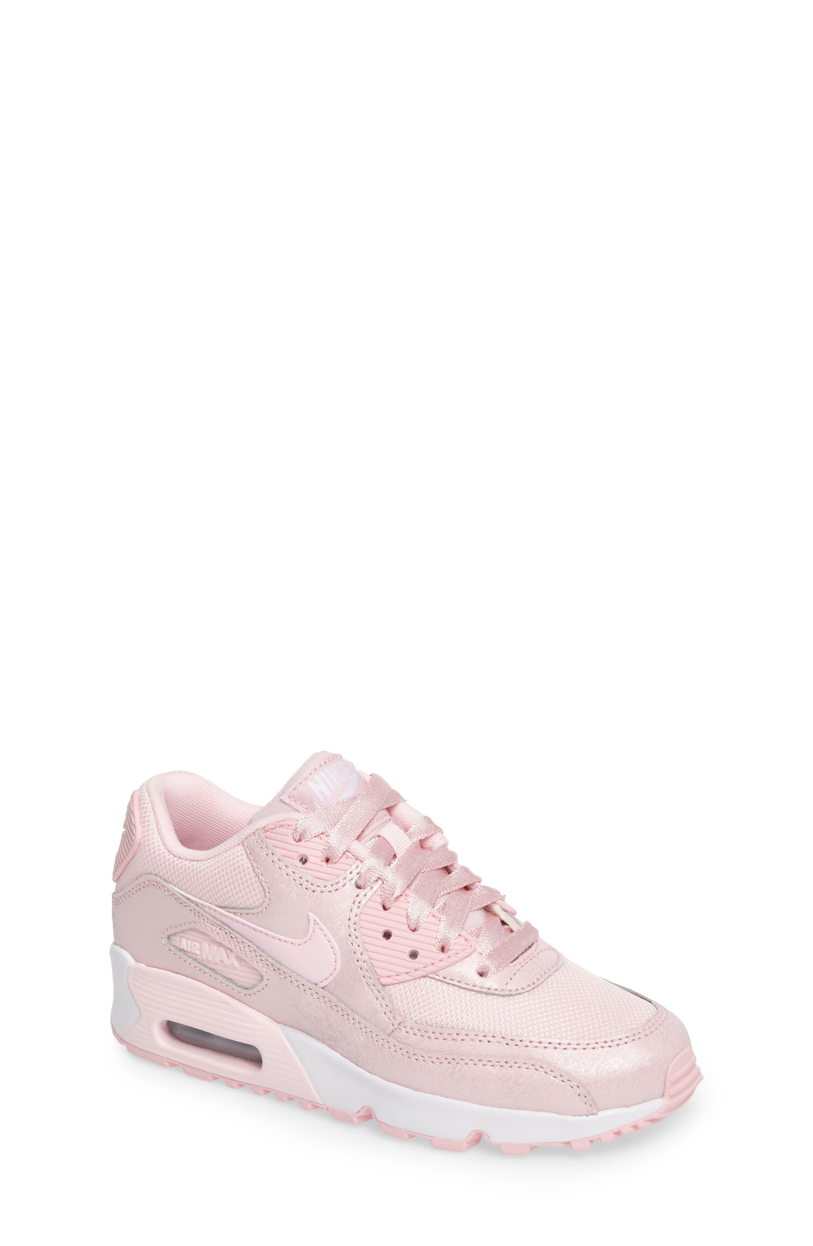 Nike Air Max 90 Mesh Sneaker (Big Kid)