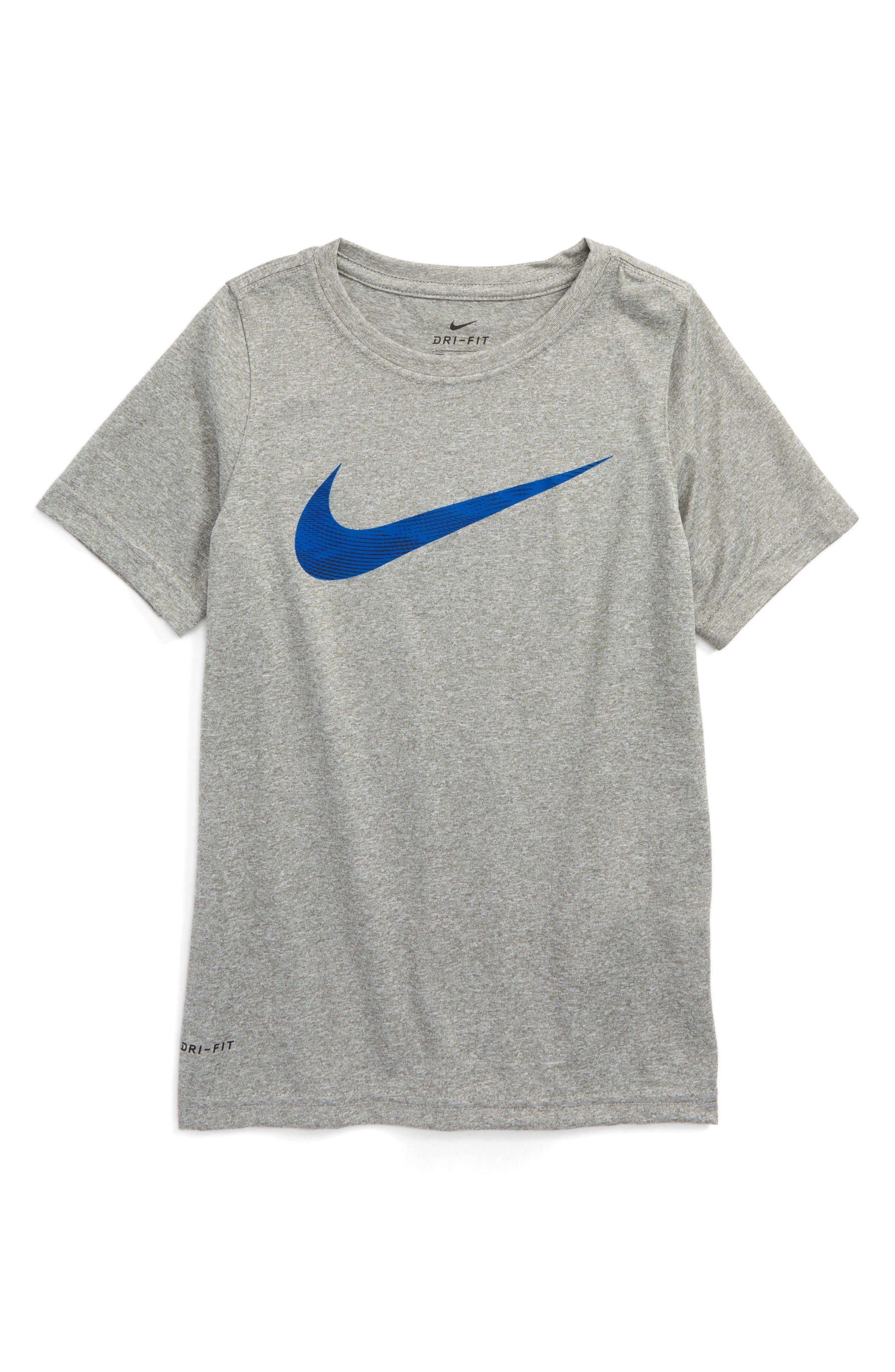 Nike Dry Swoosh T-Shirt (Little Boys & Big Boys)