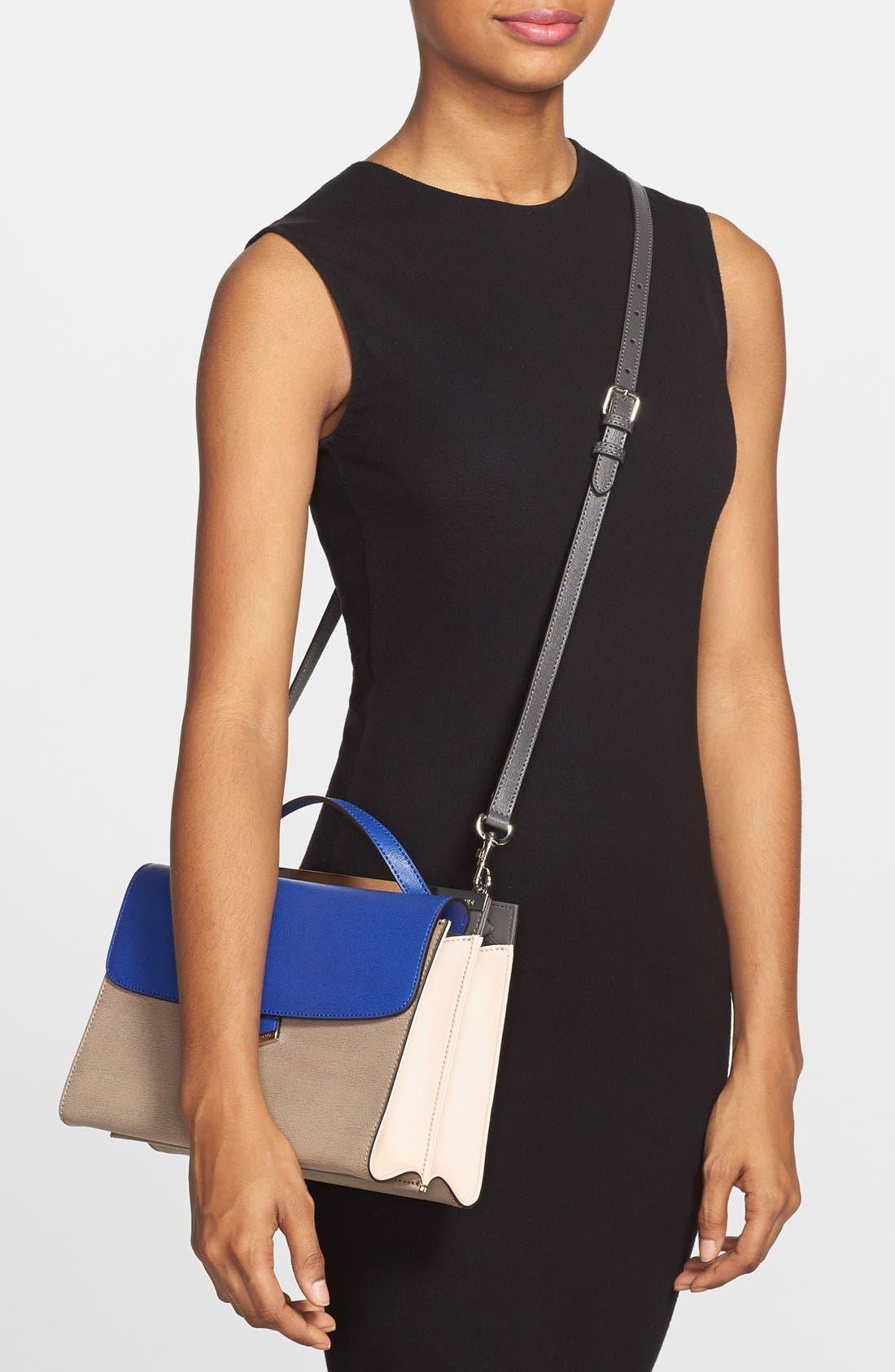 Alternate Image 2  - Fendi 'Demi Jour' Colorblock Leather Satchel