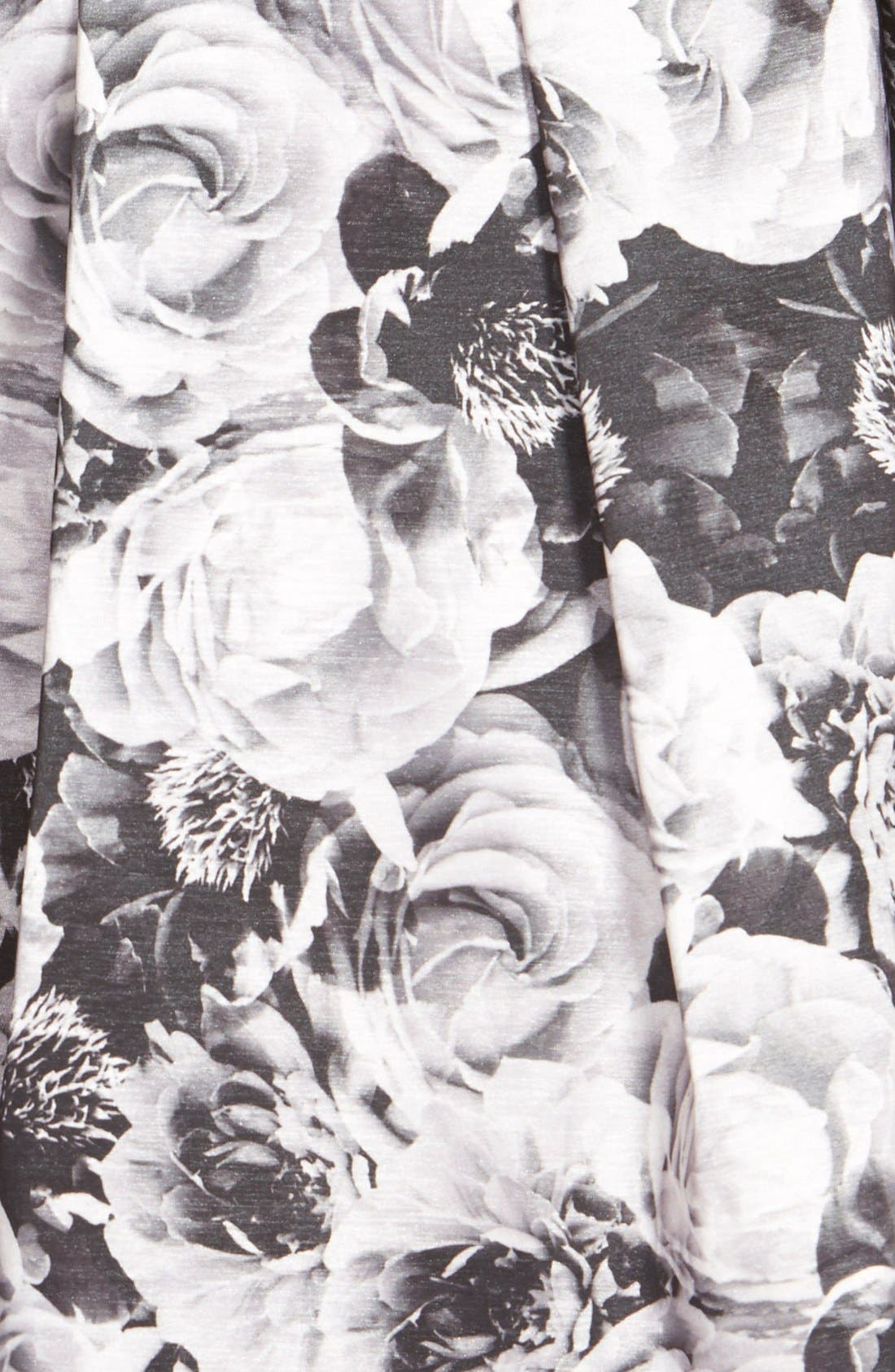 Alternate Image 4  - Aidan by Aidan Mattox Print Two-Piece Dress
