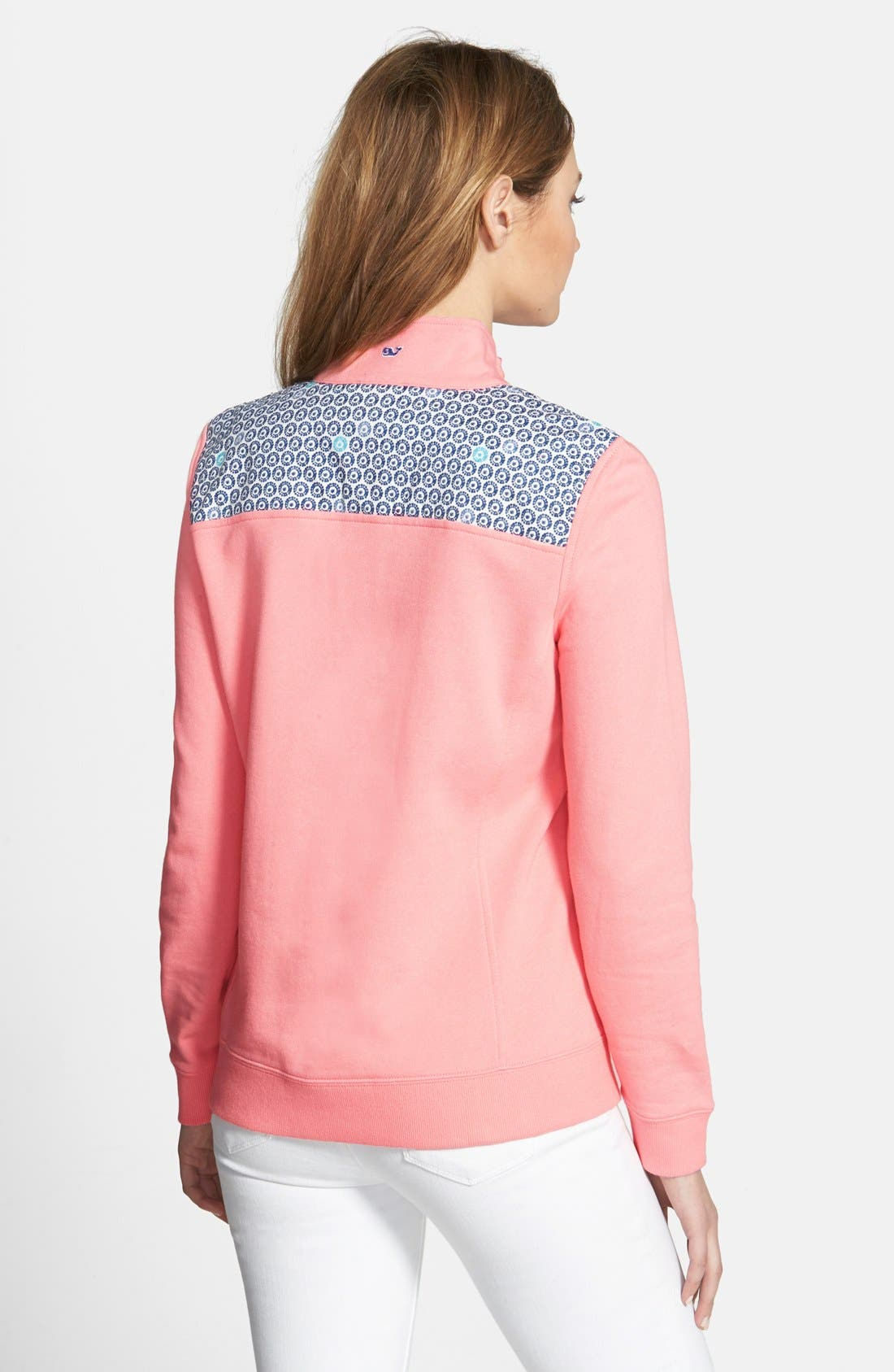 Alternate Image 2  - Vineyard Vines 'Shep' Batik Dot Sweatshirt