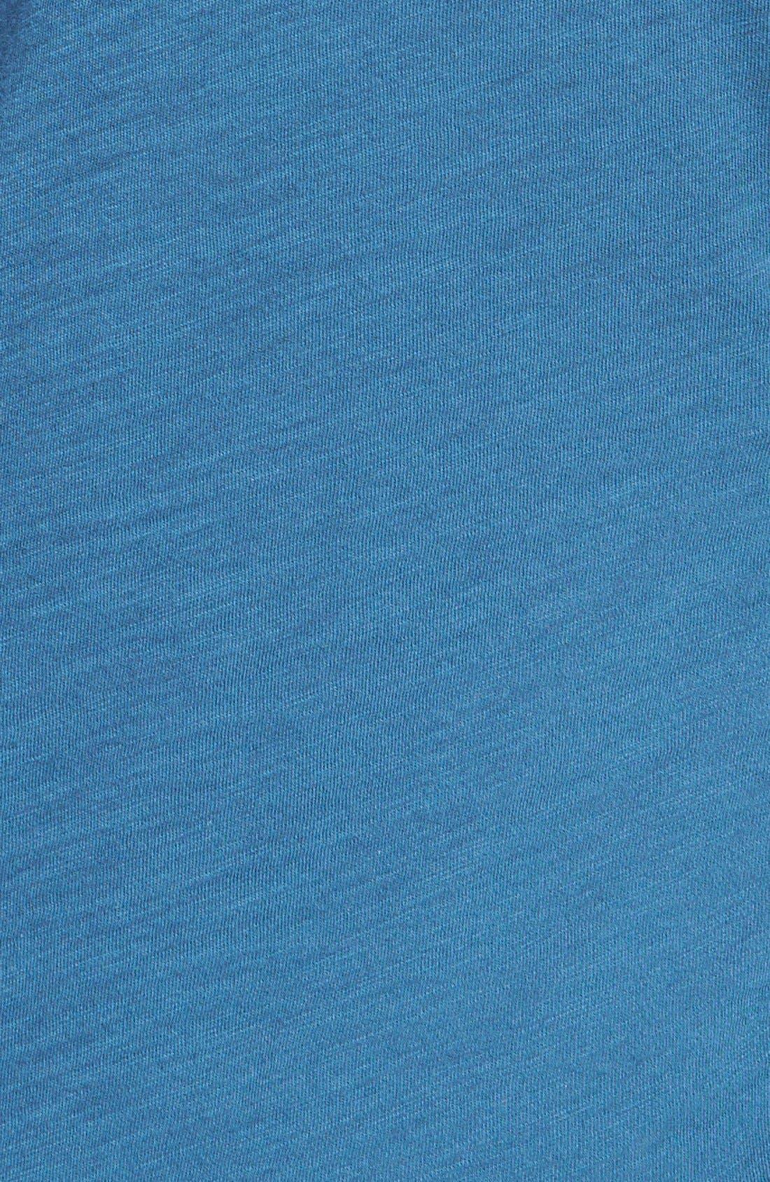 Alternate Image 3  - James Perse Sheer Slub Panel Shirt