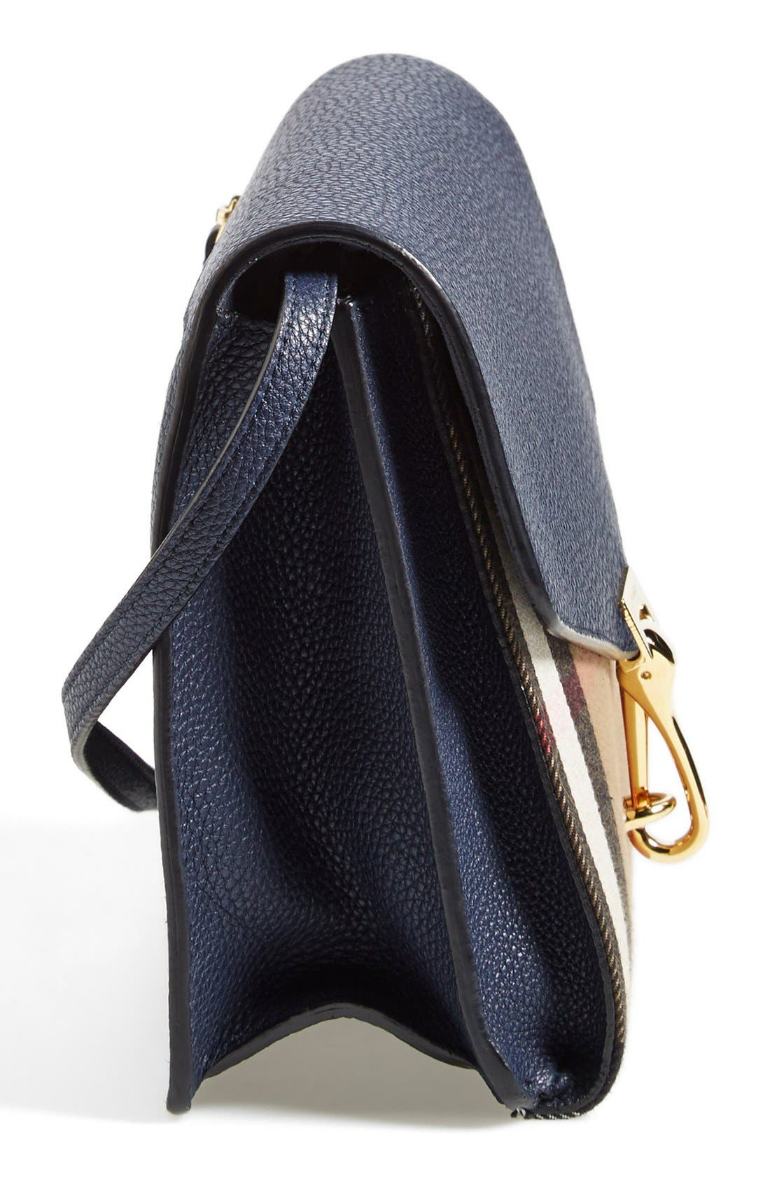 Alternate Image 5  - Burberry 'Small Macken' House Check Crossbody Bag