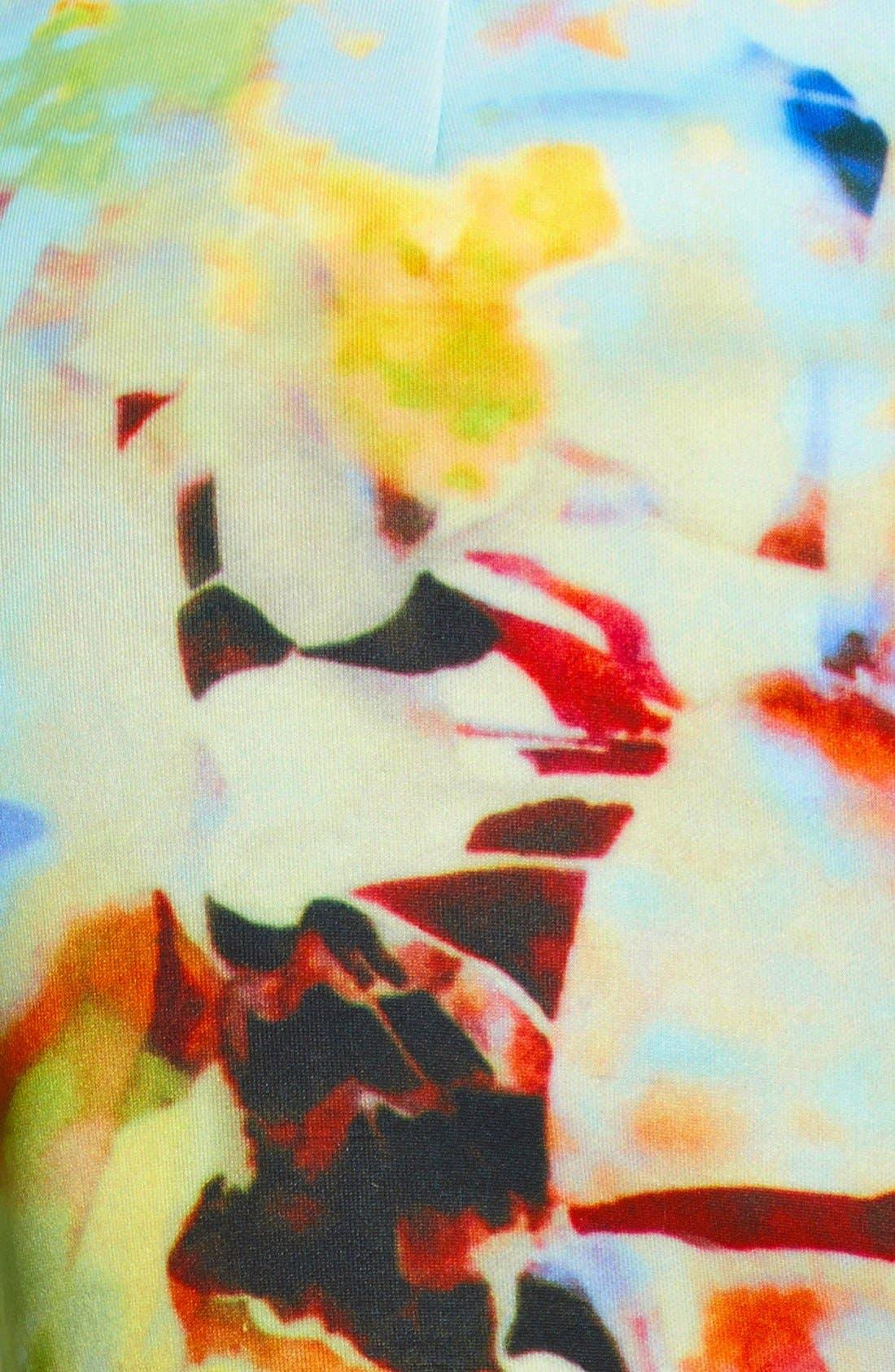 Alternate Image 3  - J.O.A. Floral Print Shorts