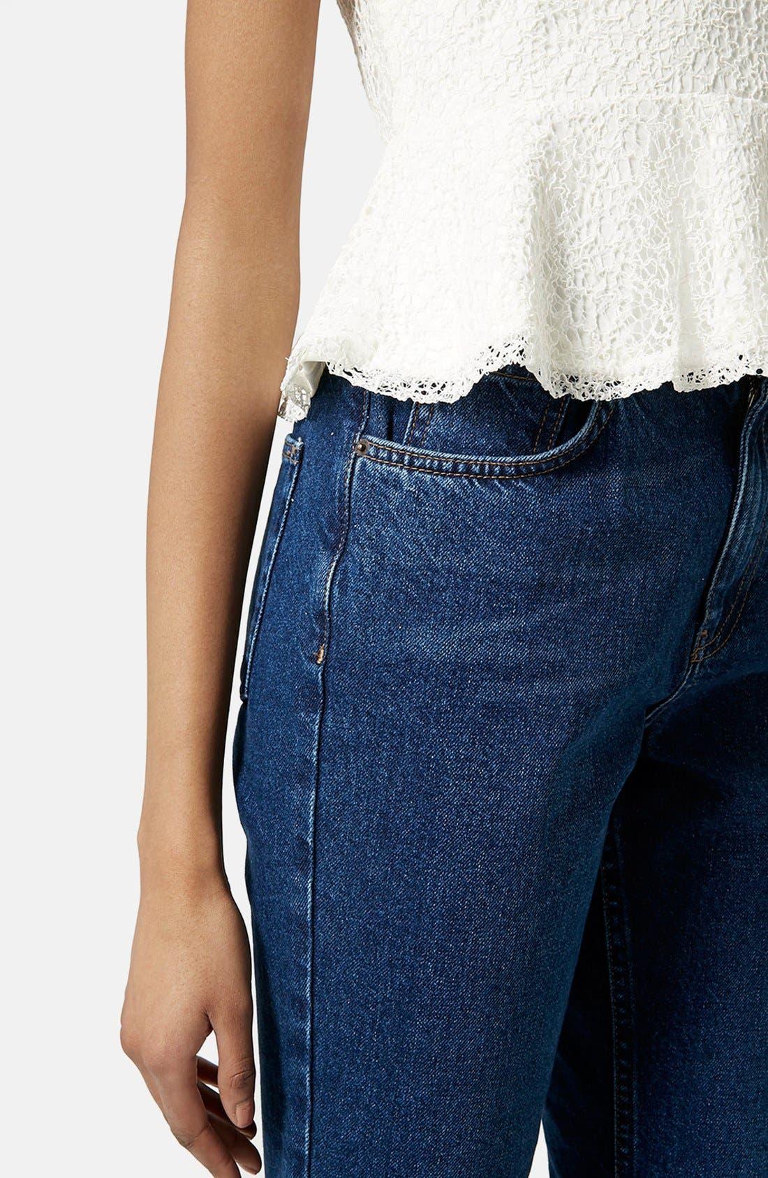 Alternate Image 4  - Topshop Lace Peplum Camisole