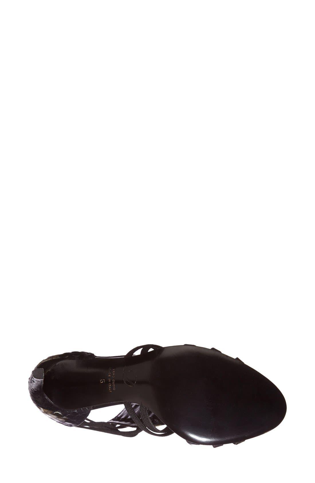 Alternate Image 4  - Delman 'Jacey' Snake Embossed Leather Bootie (Women)
