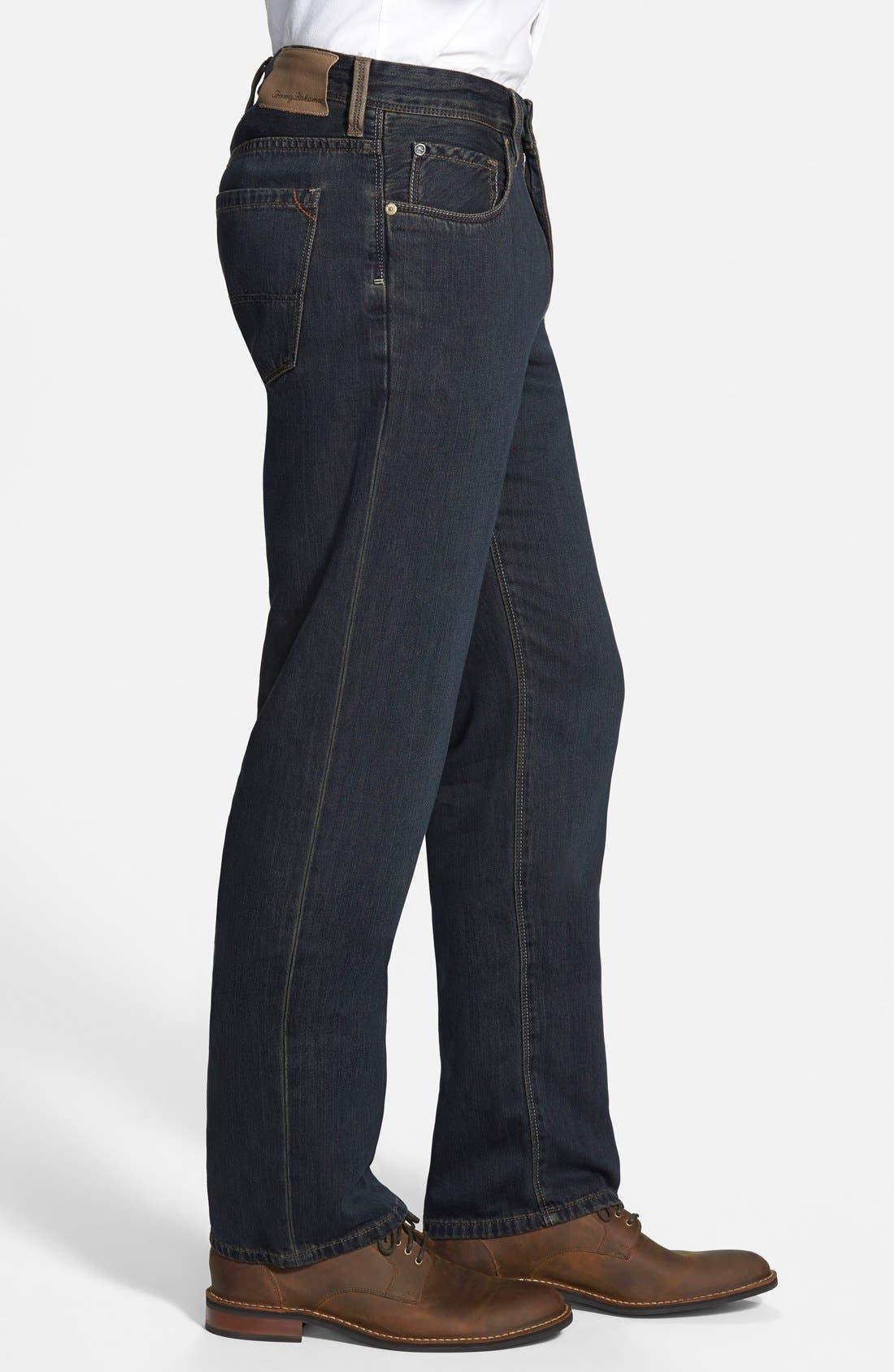 Alternate Image 2  - Tommy Bahama Denim 'Coastal Island' Standard Fit Jeans (Black Overdye)