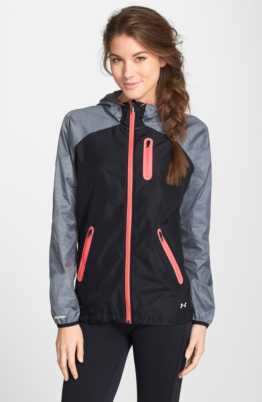 Alternate Image 1 Selected - Under Armour 'Qualifier' Running Jacket