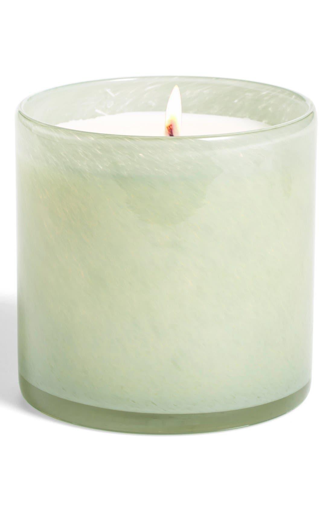 Main Image - Lafco 'Fresh Cut Gardenia - Living Room' Candle