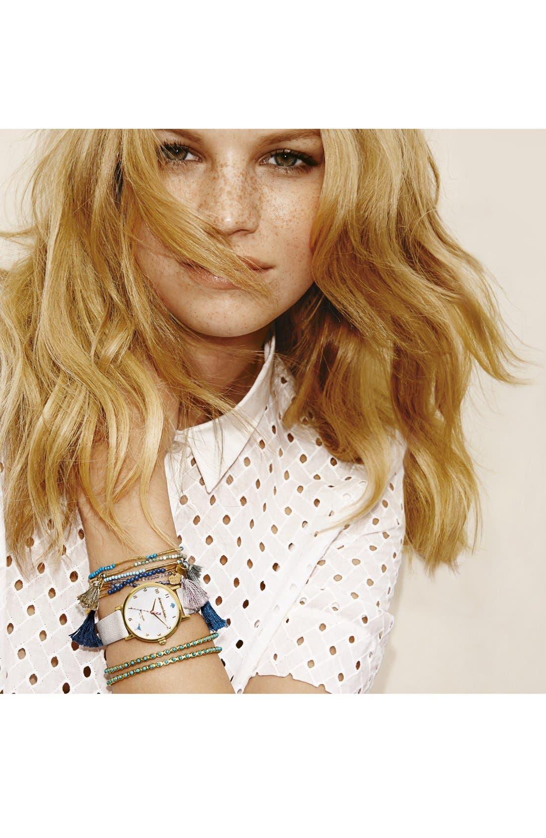 Alternate Image 2  - Cara Bead Stretch Bracelet (Set of 6)