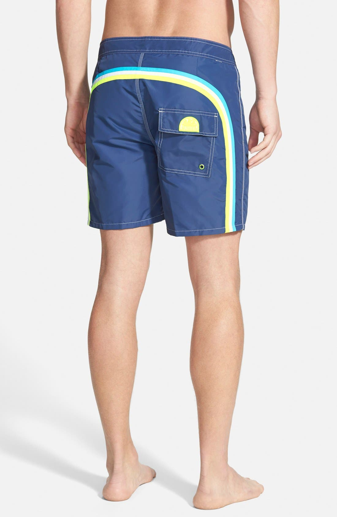 Alternate Image 1 Selected - Sundek Volley Swim Shorts (Men) (Online Only)