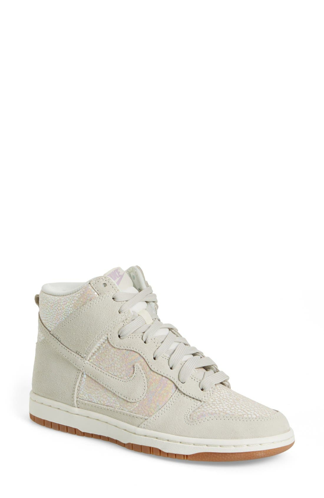 Alternate Image 1 Selected - Nike 'Dunk High' Sneaker (Women)