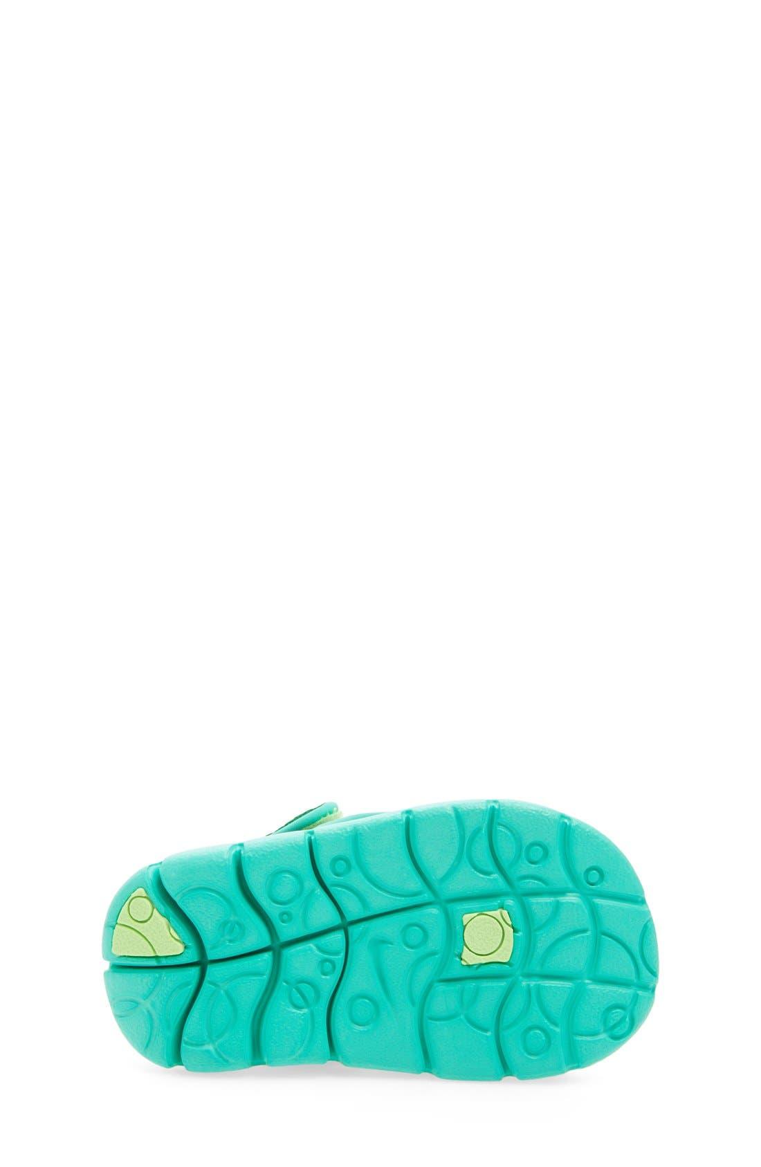Alternate Image 4  - Nike 'Sunray Adjust 4' Sandal (Baby, Walker & Toddler)