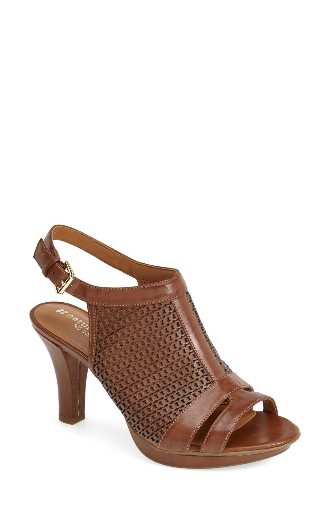 Alternate Image 1 Selected - Naturalizer 'Dania' Ankle Strap Sandal (Women)