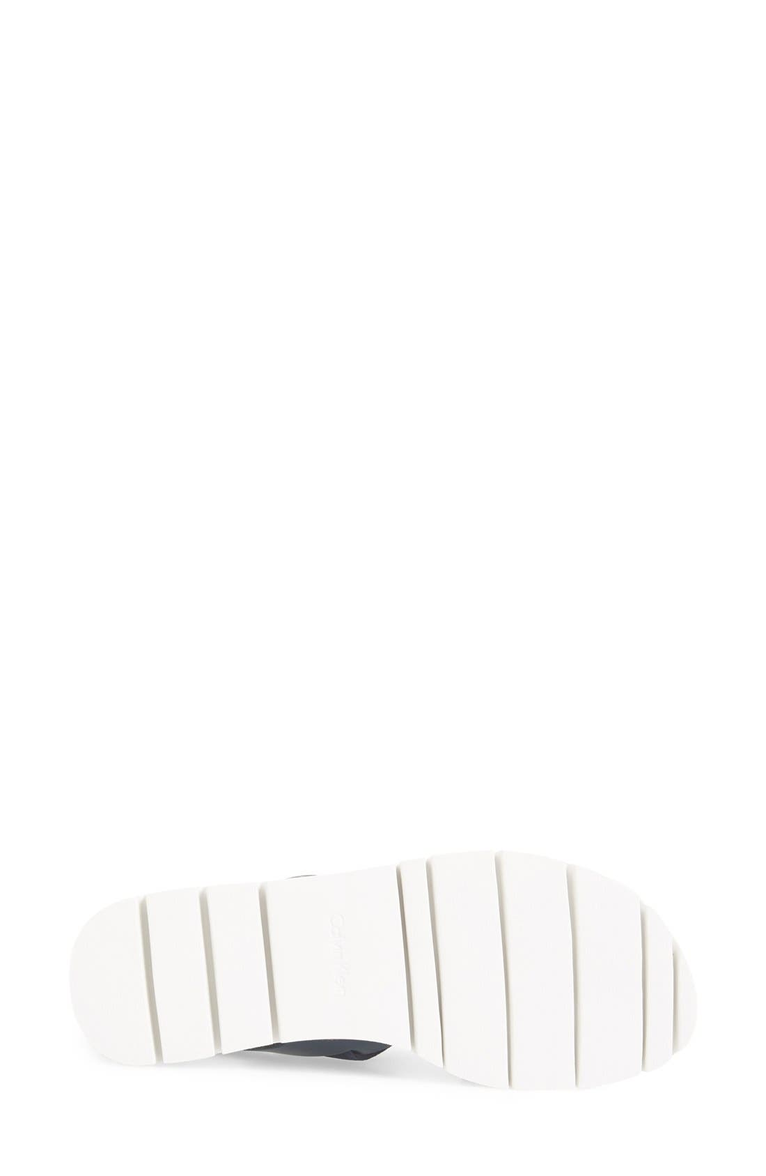 Alternate Image 4  - Calvin Klein 'Prisma' Double Band Sport Sandal (Women)