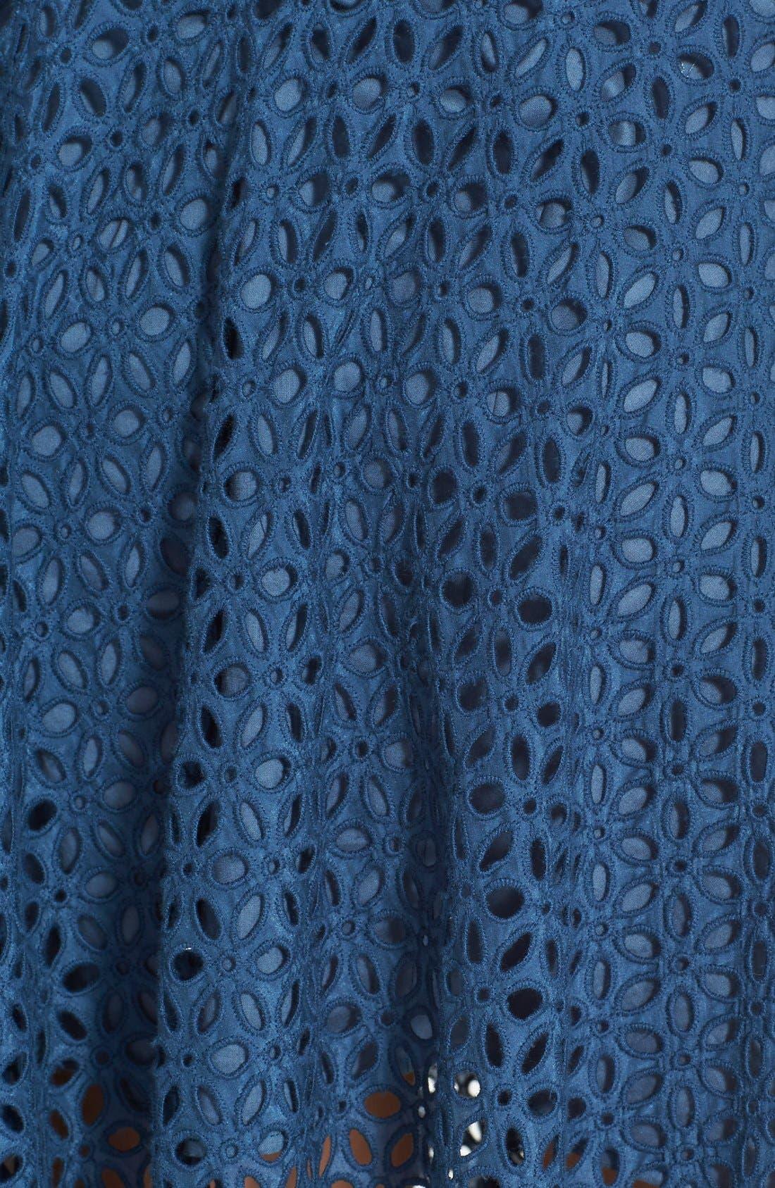 Alternate Image 4  - Tibi 'Hanae' Eyelet Skirt