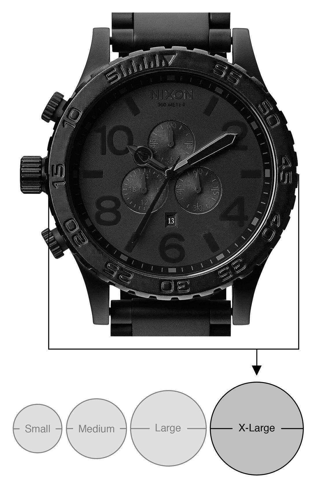 Alternate Image 5  - Nixon 'The 51-30 Chrono' Watch, 51mm