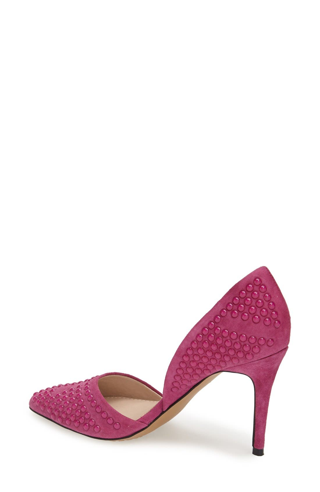Alternate Image 2  - French Connection 'Ellis' Studded Pointy Toe Pump (Women)