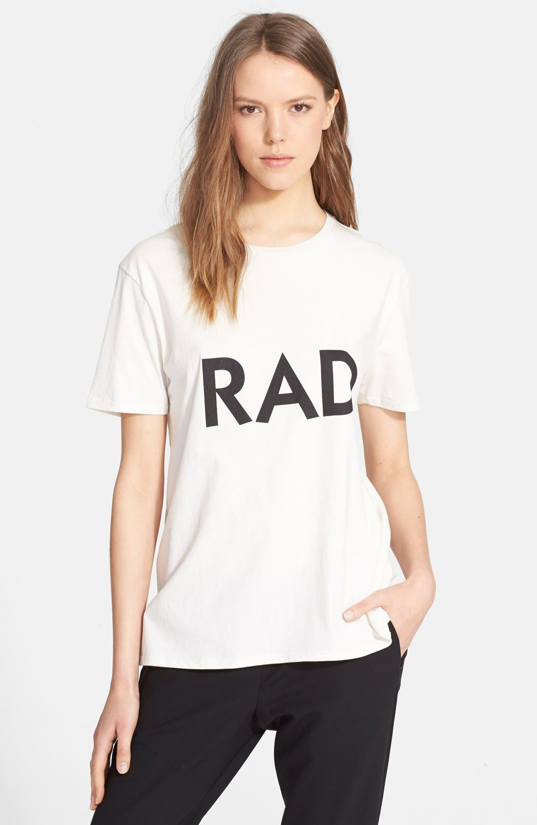 Alternate Image 1 Selected - 6397 'Rad' Graphic Tee