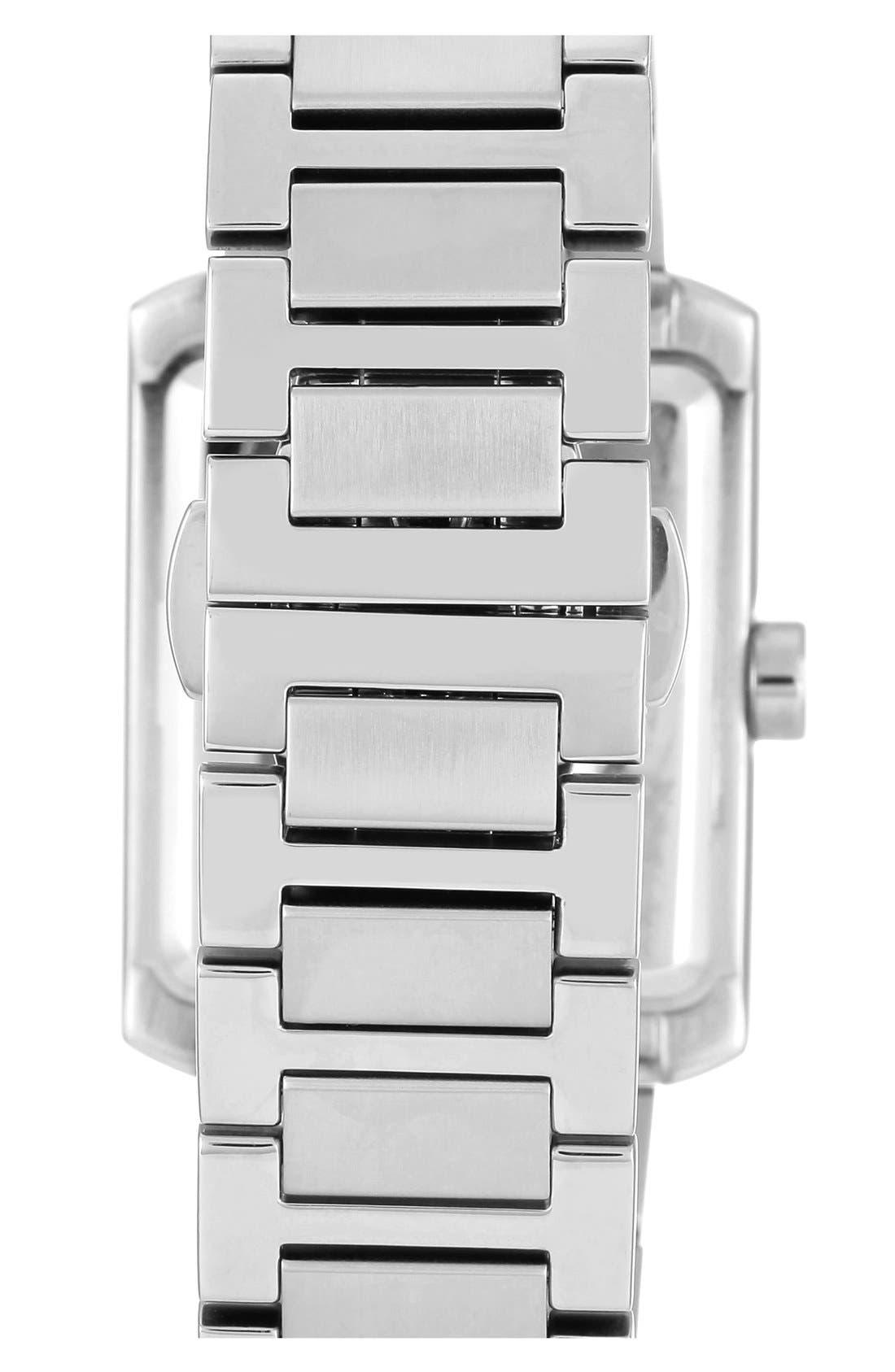 Alternate Image 2  - Vince Camuto Rectangle Bracelet Watch, 40mm