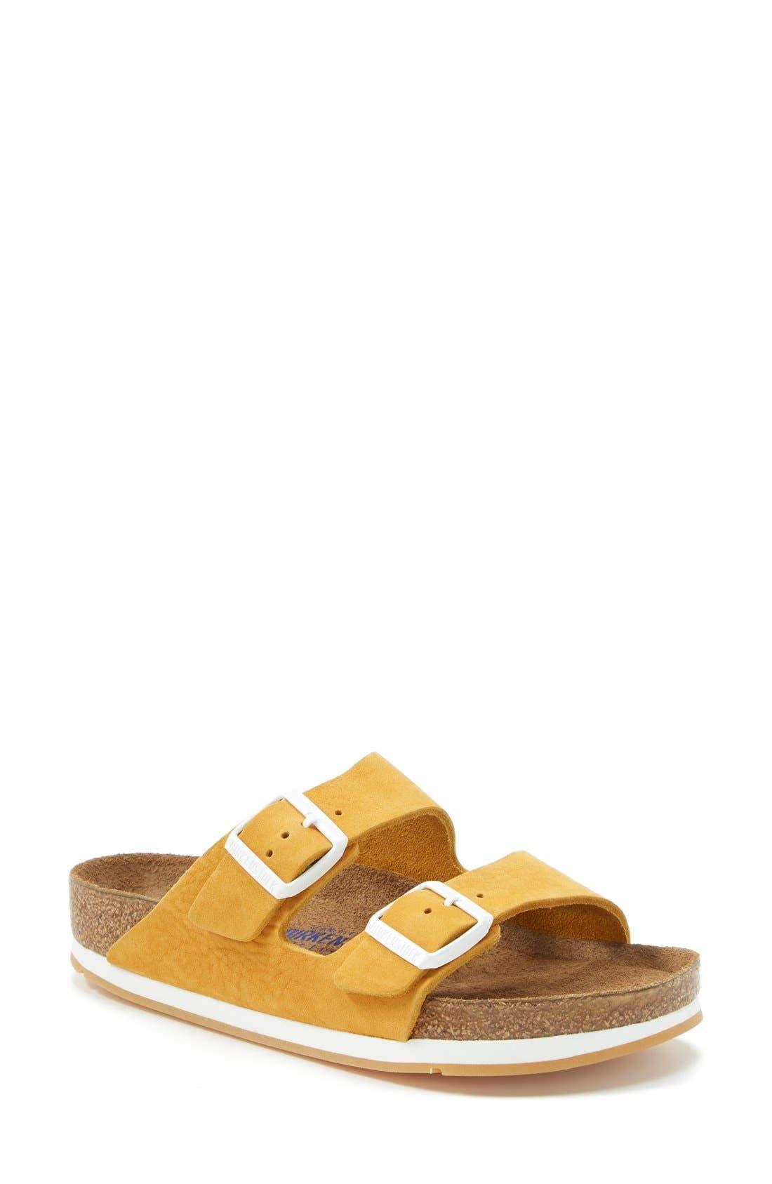 Alternate Image 1 Selected - Birkenstock 'Arizona' Soft Footbed Sandal (Women)