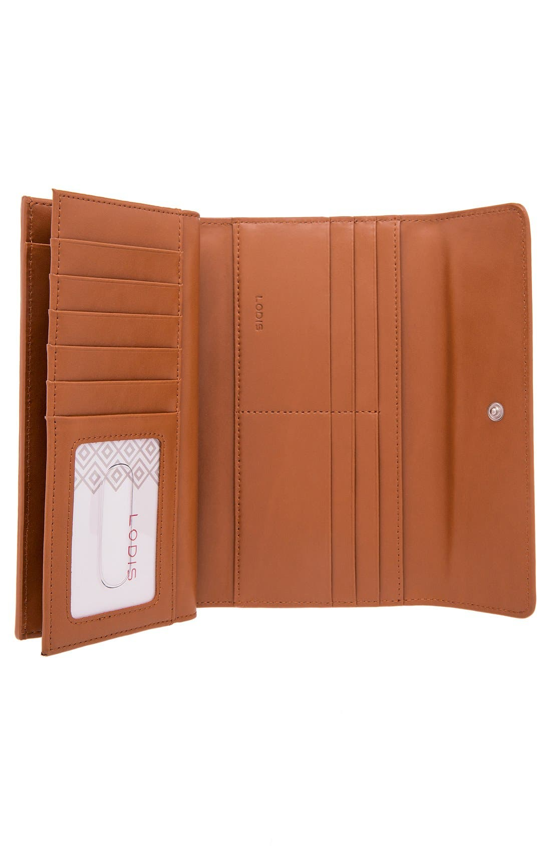 Alternate Image 4  - Lodis 'Audrey' Checkbook Clutch Wallet