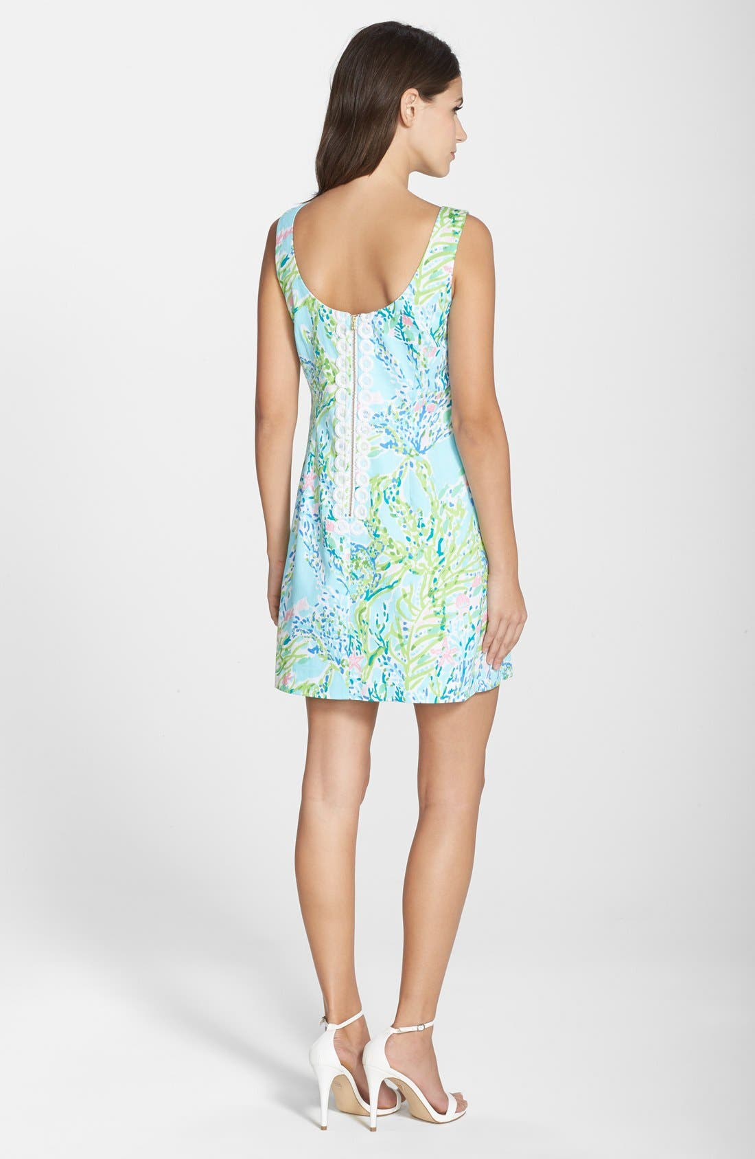 Alternate Image 2  - Lilly Pulitzer® 'Cathy' Cotton Shift Dress