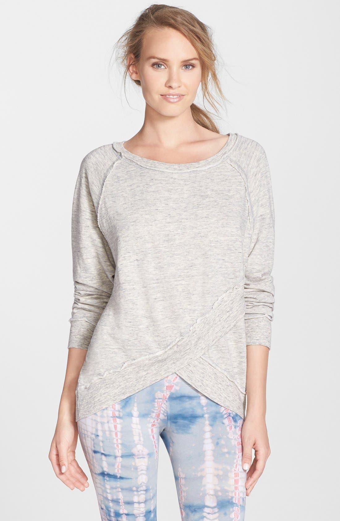 Alternate Image 1 Selected - Hard Tail Crossover Sweatshirt