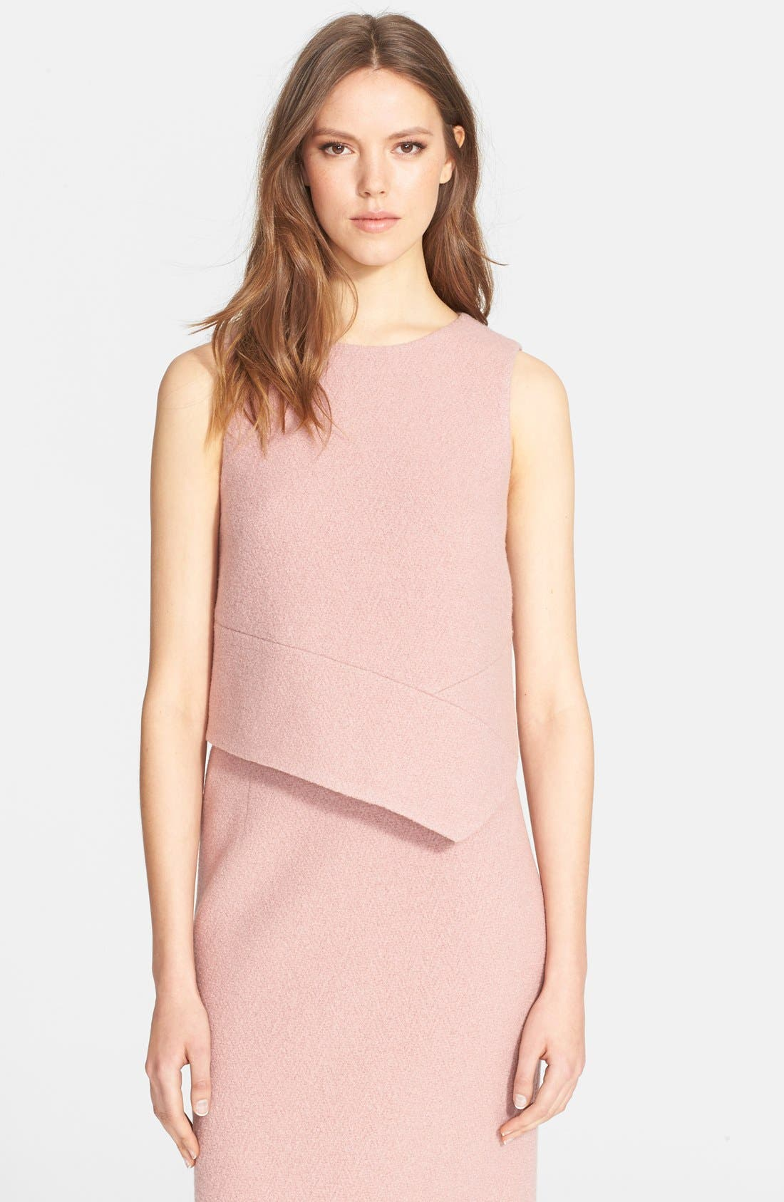 Alternate Image 1 Selected - Tibi Bouclé Knit Sleeveless Top