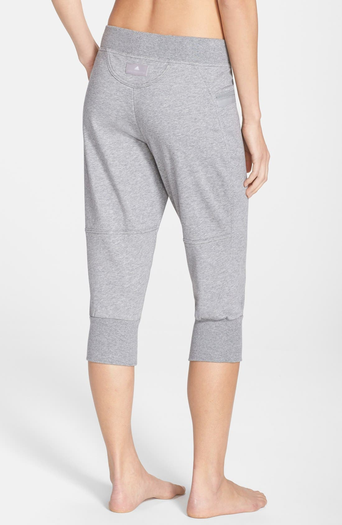 Alternate Image 2  - adidas by Stella McCartney 'Ess' Organic Cotton Sweatpants