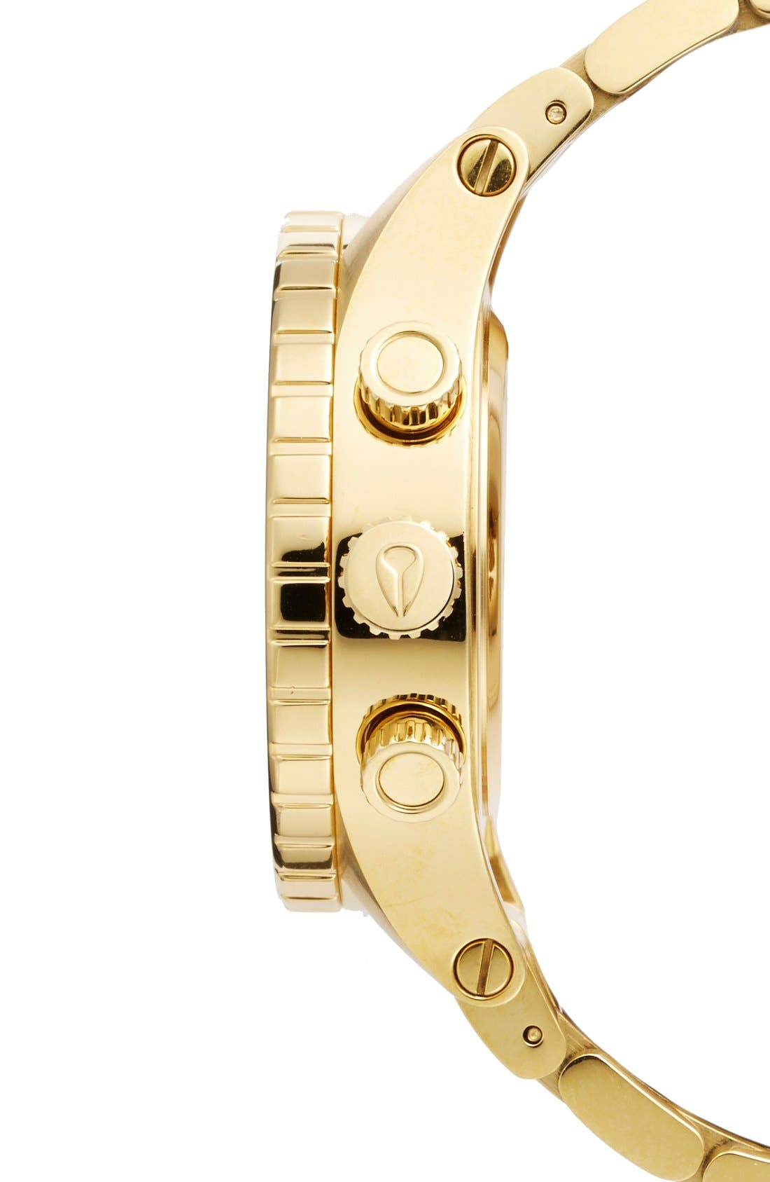 Alternate Image 3  - Nixon 'The 38-20' Crystal Bezel Chronograph Bracelet Watch, 38mm