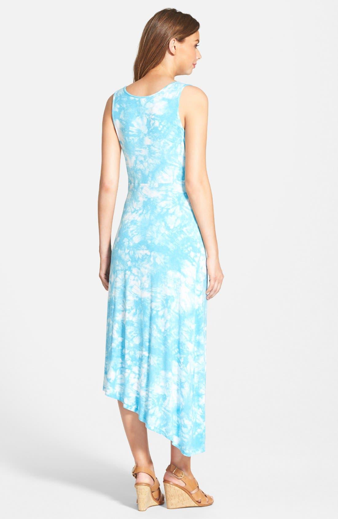 Alternate Image 2  - kensie 'Burst' Tie Dye Maxi Dress