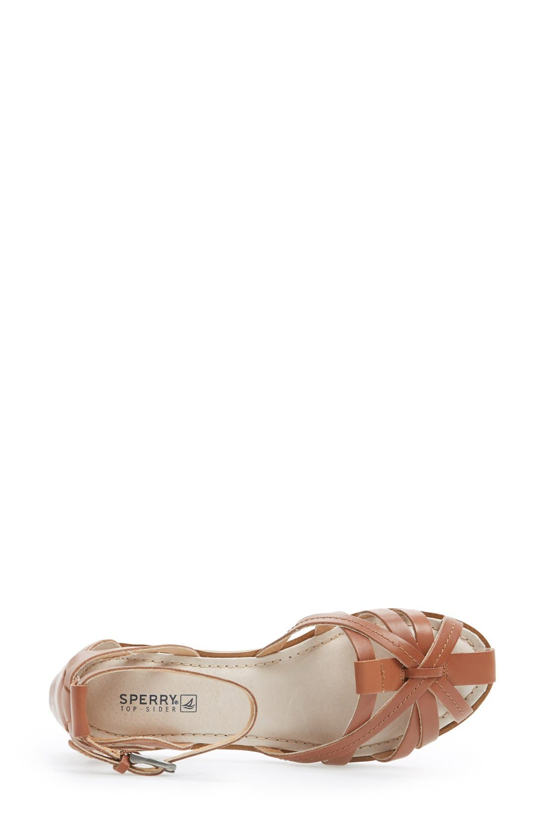 Alternate Image 3  - Sperry 'June' Leather Ankle Strap Sandal (Women)