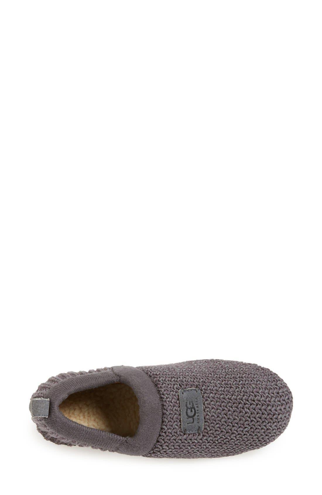 Alternate Image 3  - UGG® Australia 'Calypso' Knit Slipper
