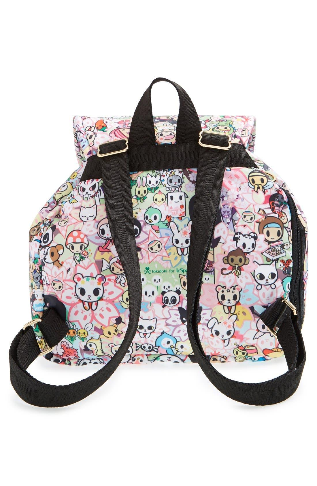 Alternate Image 4  - tokidoki x LeSportsac 'Piccolina' Nylon Backpack