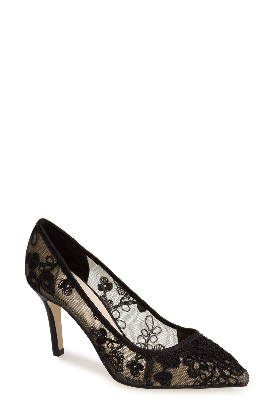 Alternate Image 1 Selected - Menbur 'Delavigne' Lace Pump (Women)