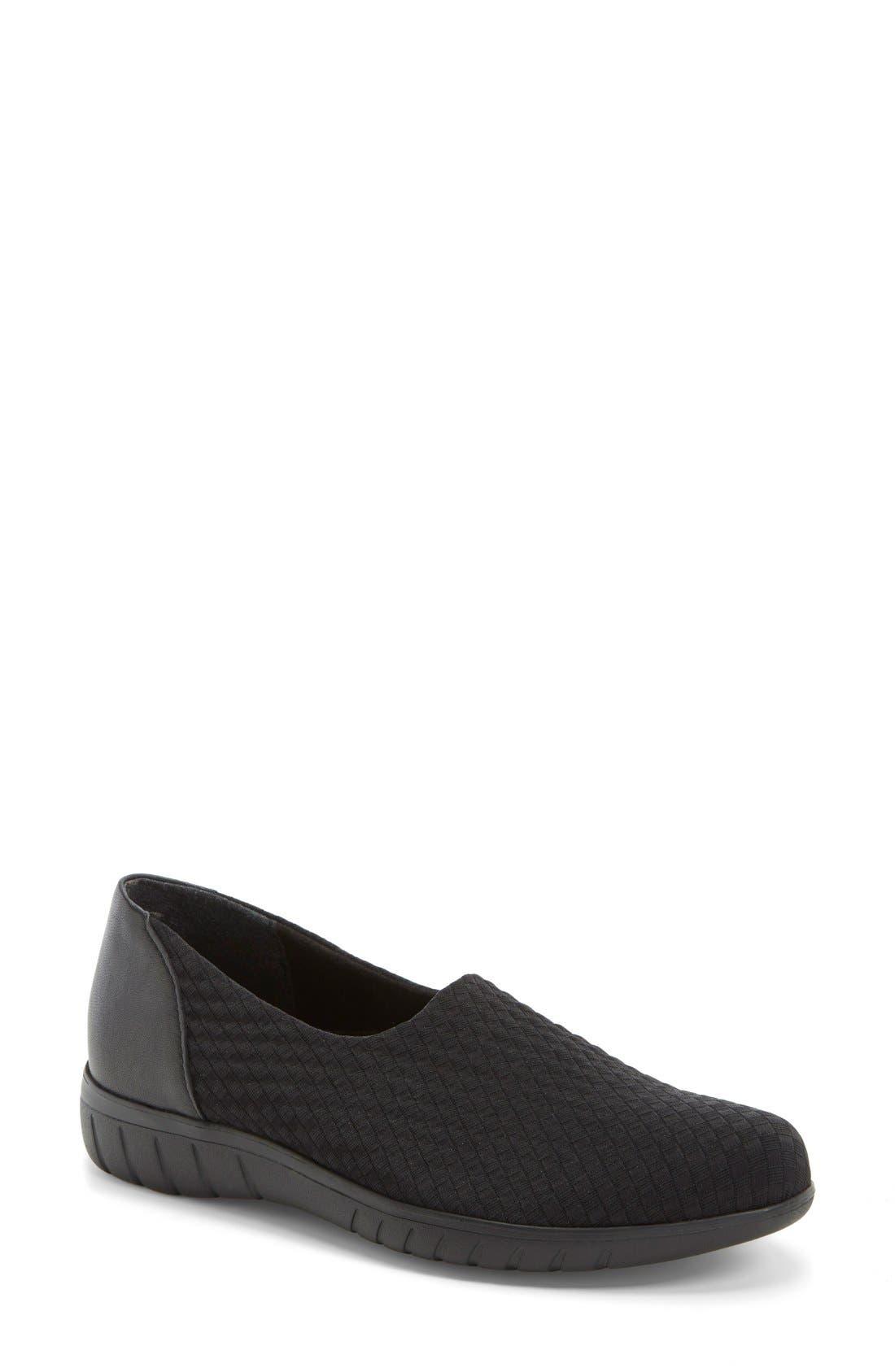 Munro 'Cruise' Woven Slip-On Sneaker (Women)